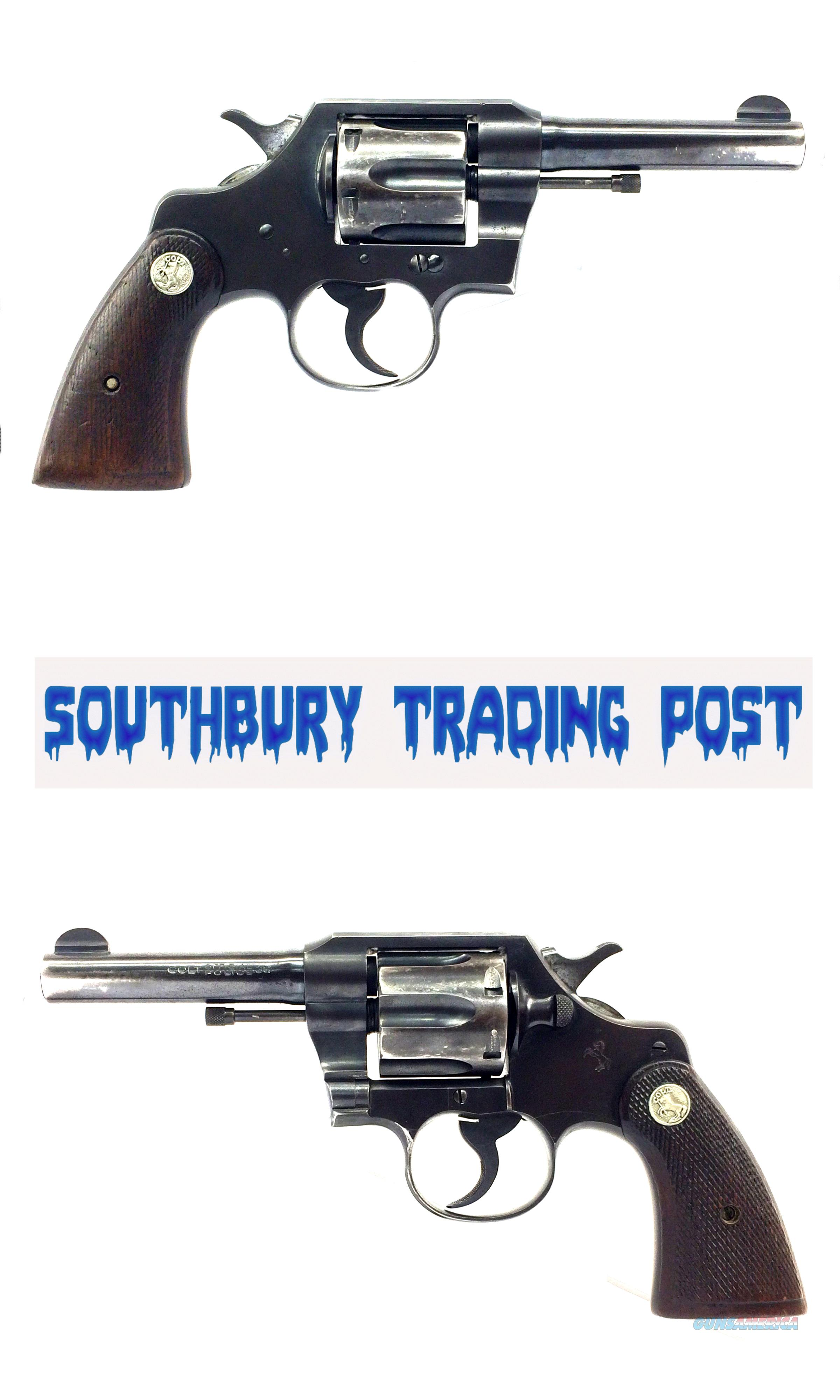 Colt Official Police .38Spl Double-Action Revolver *Price Reduced*  Guns > Pistols > Colt Double Action Revolvers- Pre-1945