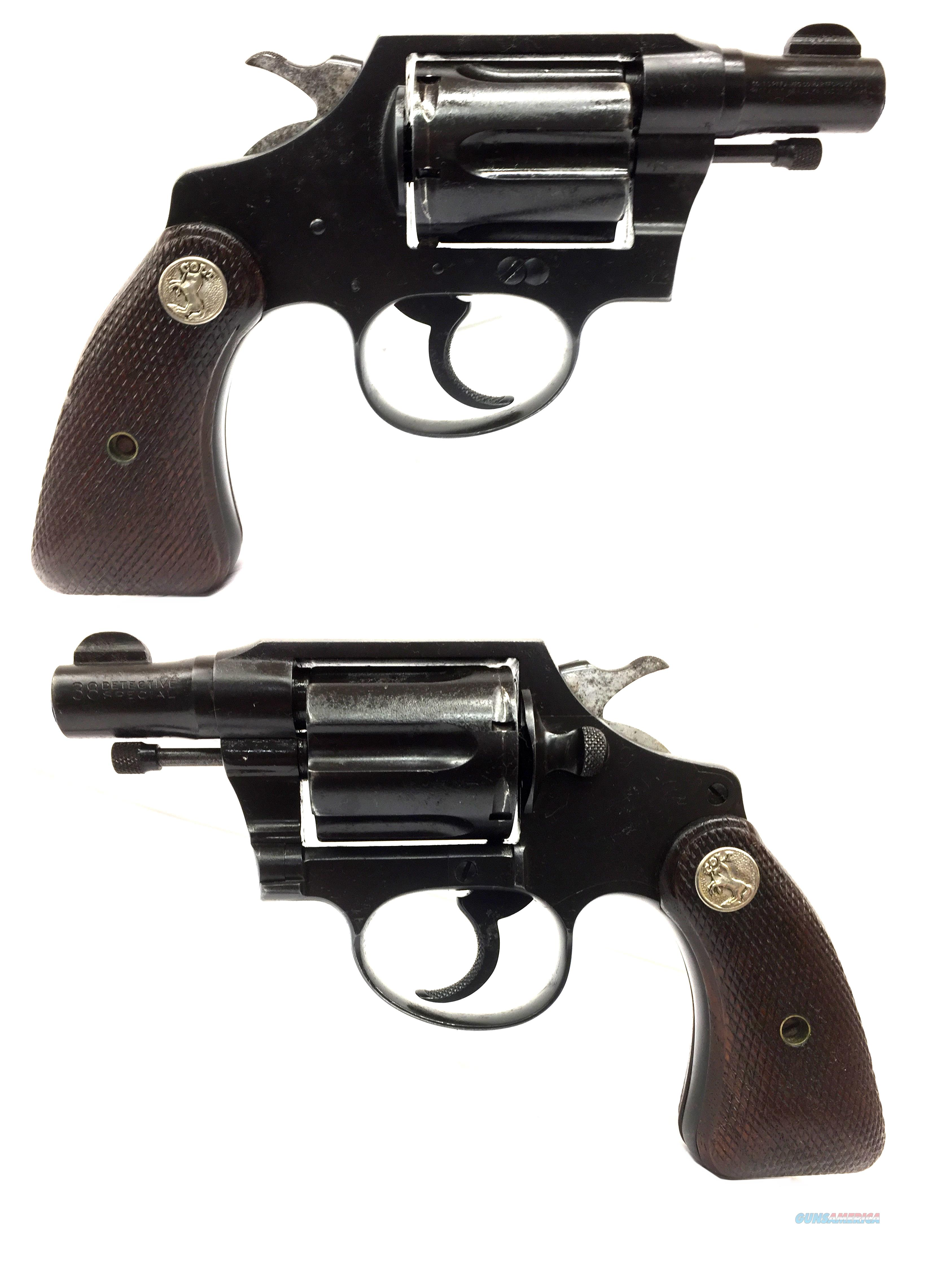 Colt Detective Special Revolver *Pre-War*  Guns > Pistols > Colt Double Action Revolvers- Pre-1945