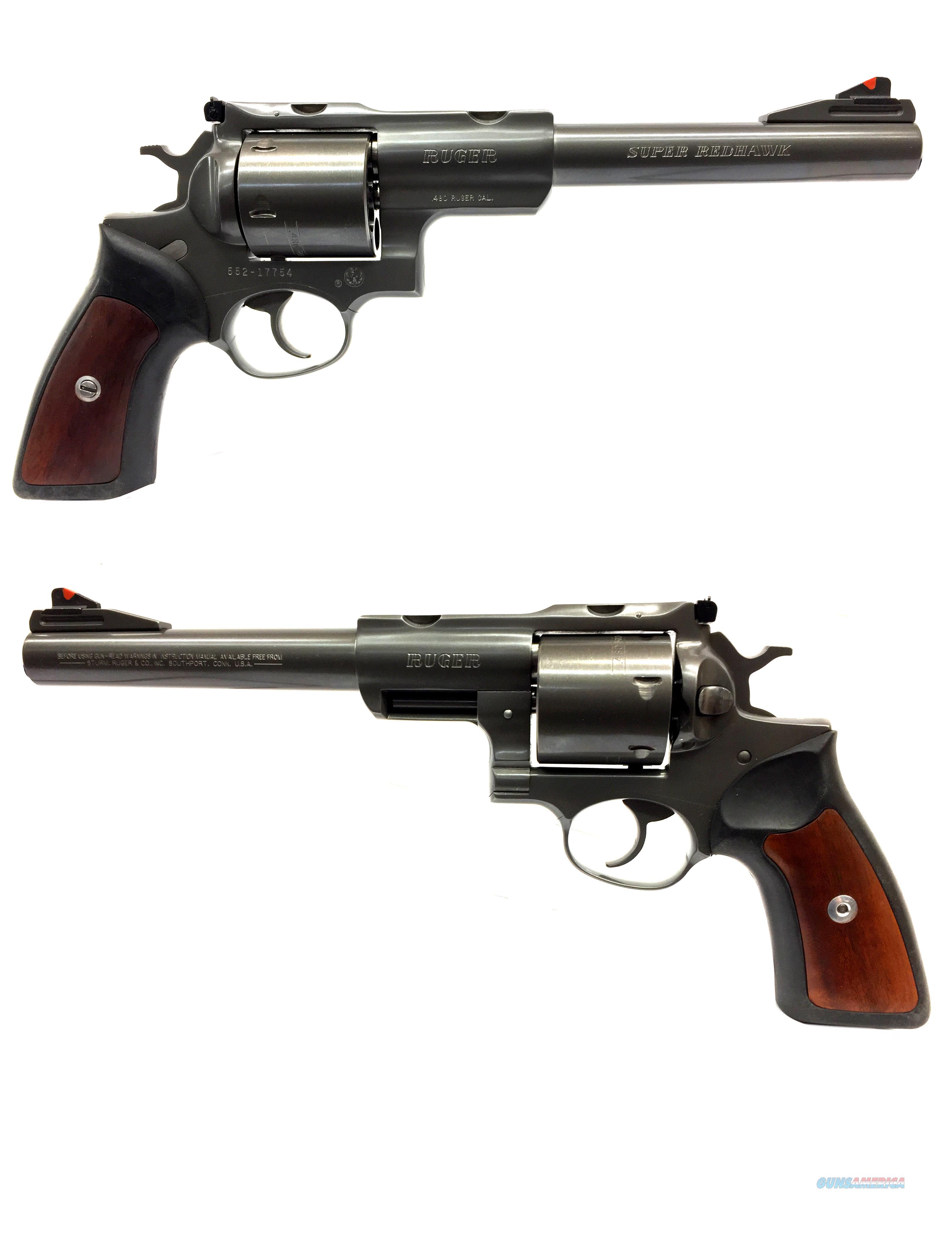 Ruger Super Redhawk .480 RUGER Revolver  Guns > Pistols > Ruger Double Action Revolver > Redhawk Type