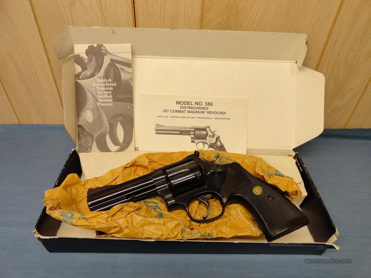 Smith & Wesson Model 586 (Distinguished Combat Magnum)  Guns > Pistols > Smith & Wesson Revolvers > Full Frame Revolver