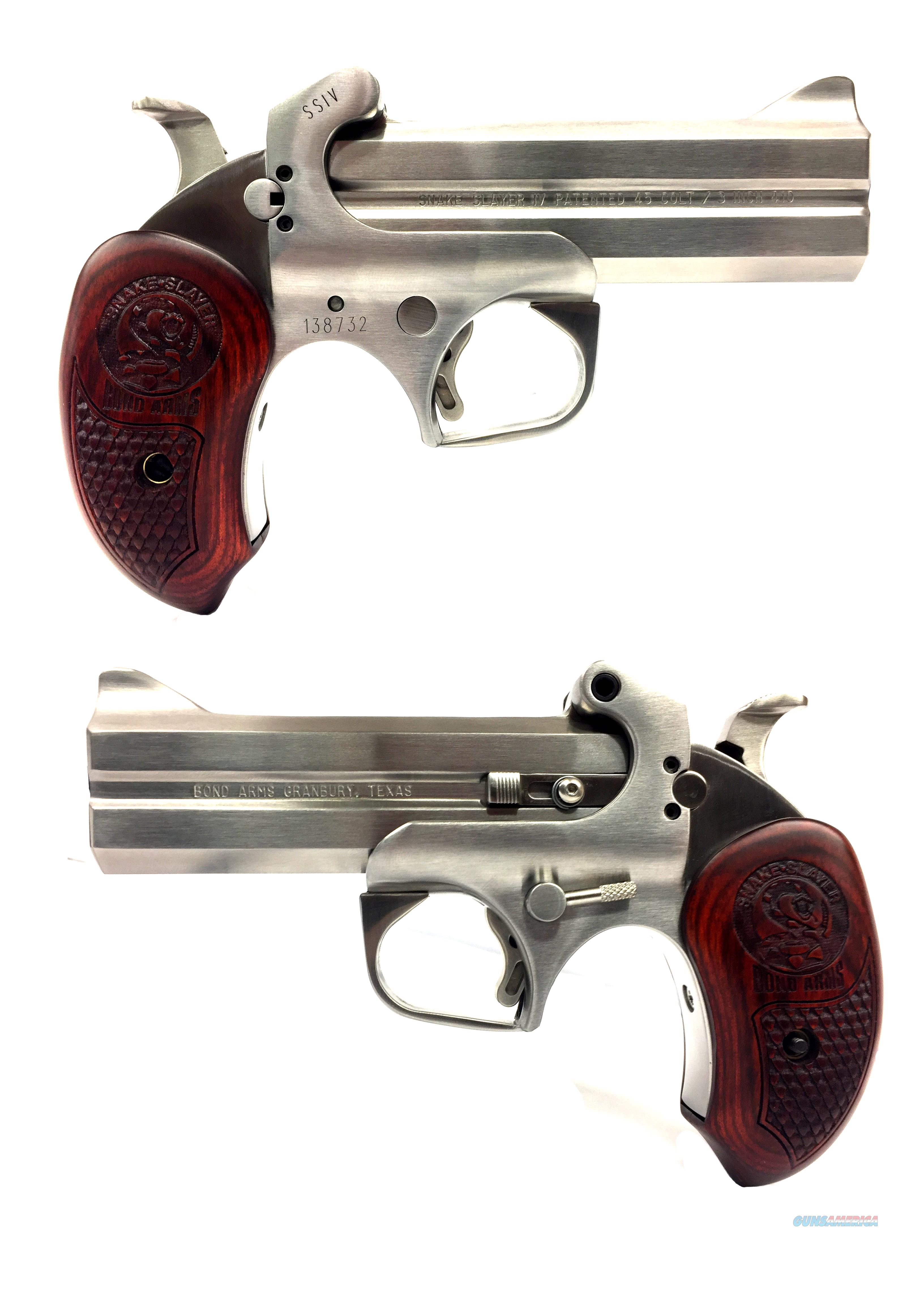 Bond Arms Snake Slayer IV .45 Colt/ .410 Shot Shell Derringer  Guns > Pistols > Bond Derringers