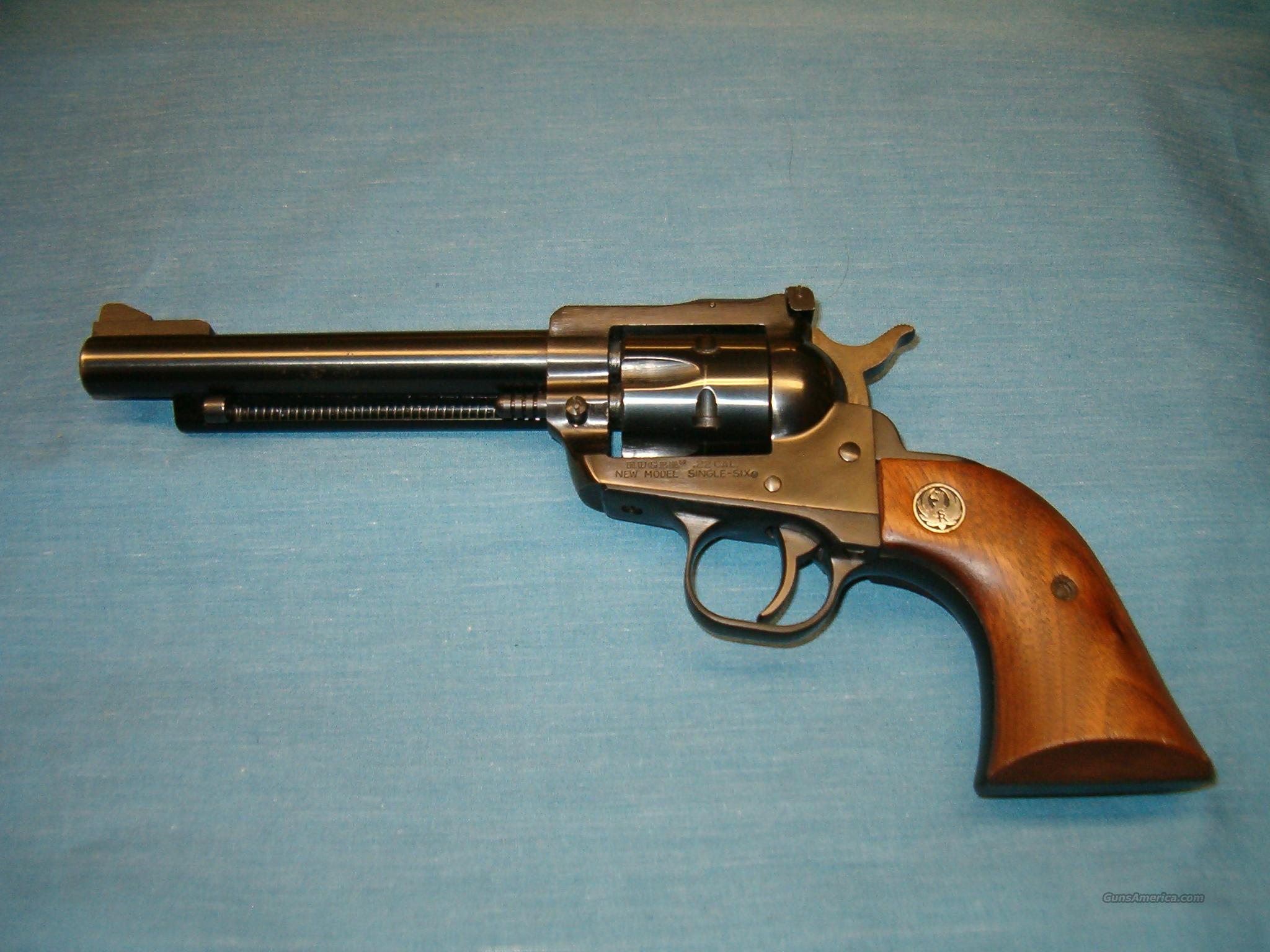 "RUGER New Model Single Six .22cal 5 1/2"" bbl  Guns > Pistols > Ruger Single Action Revolvers > Single Six Type"