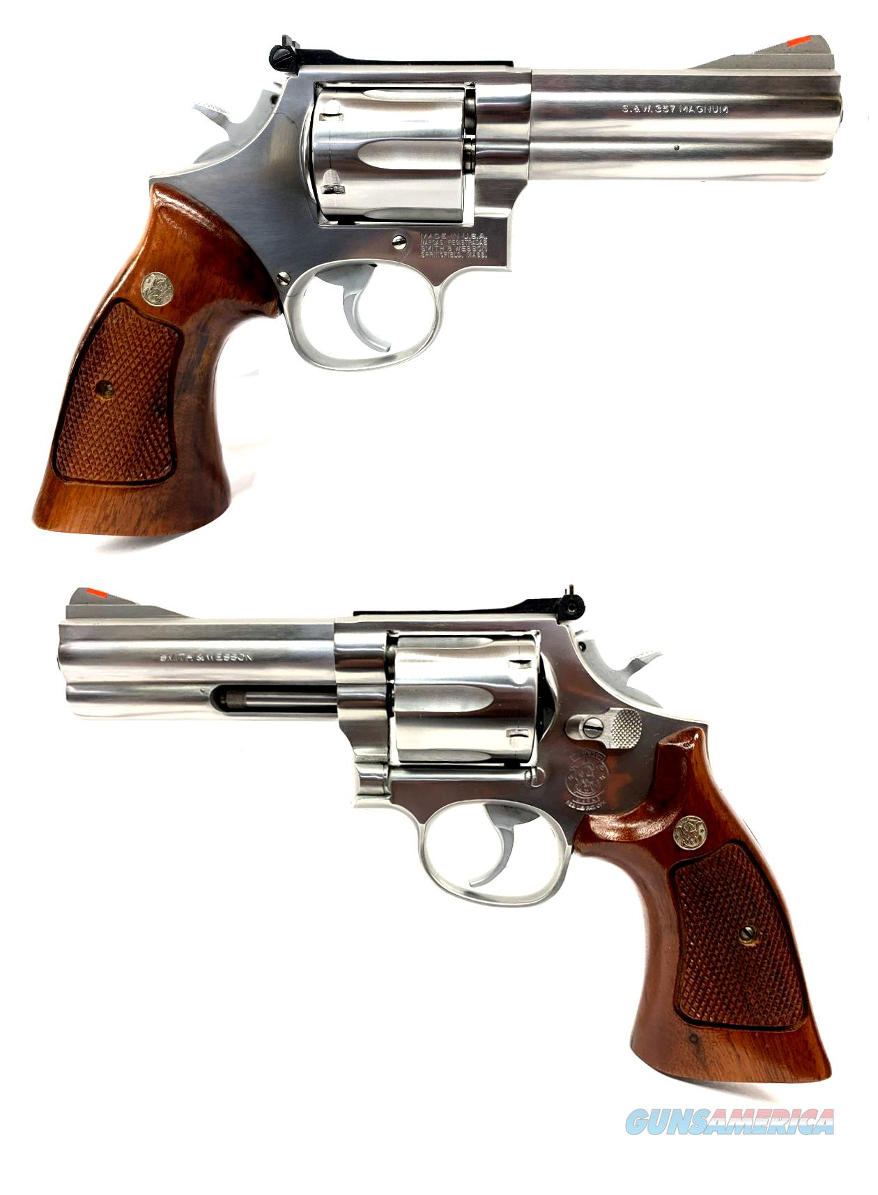 Smith & Wesson Model 686-2  Guns > Pistols > Smith & Wesson Revolvers > Med. Frame ( K/L )