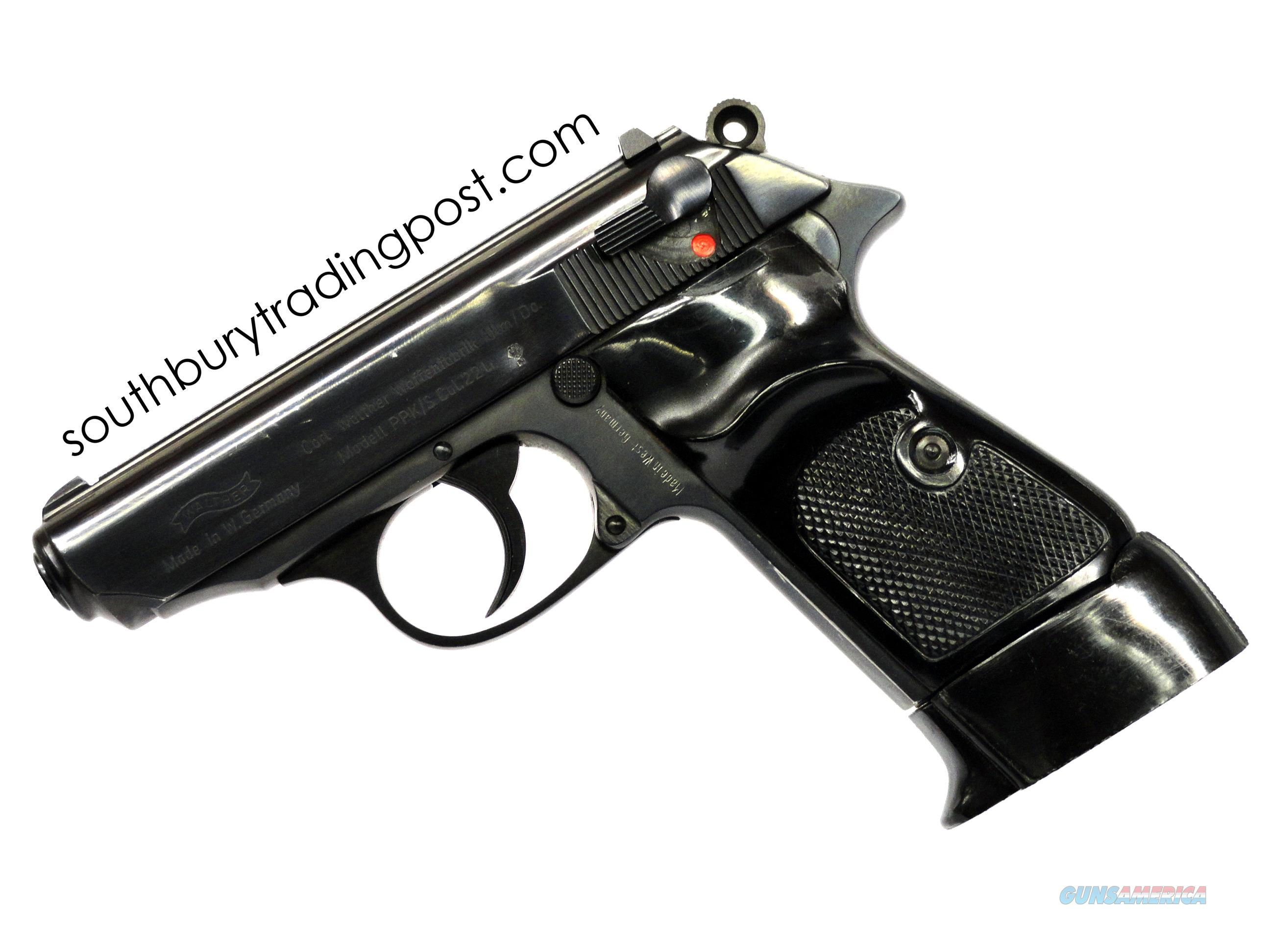 Walther PPK/S .22LR, MFG 1970's - *Actual Firearm Pictured*  Guns > Pistols > Walther Pistols > Post WWII > PPK Series