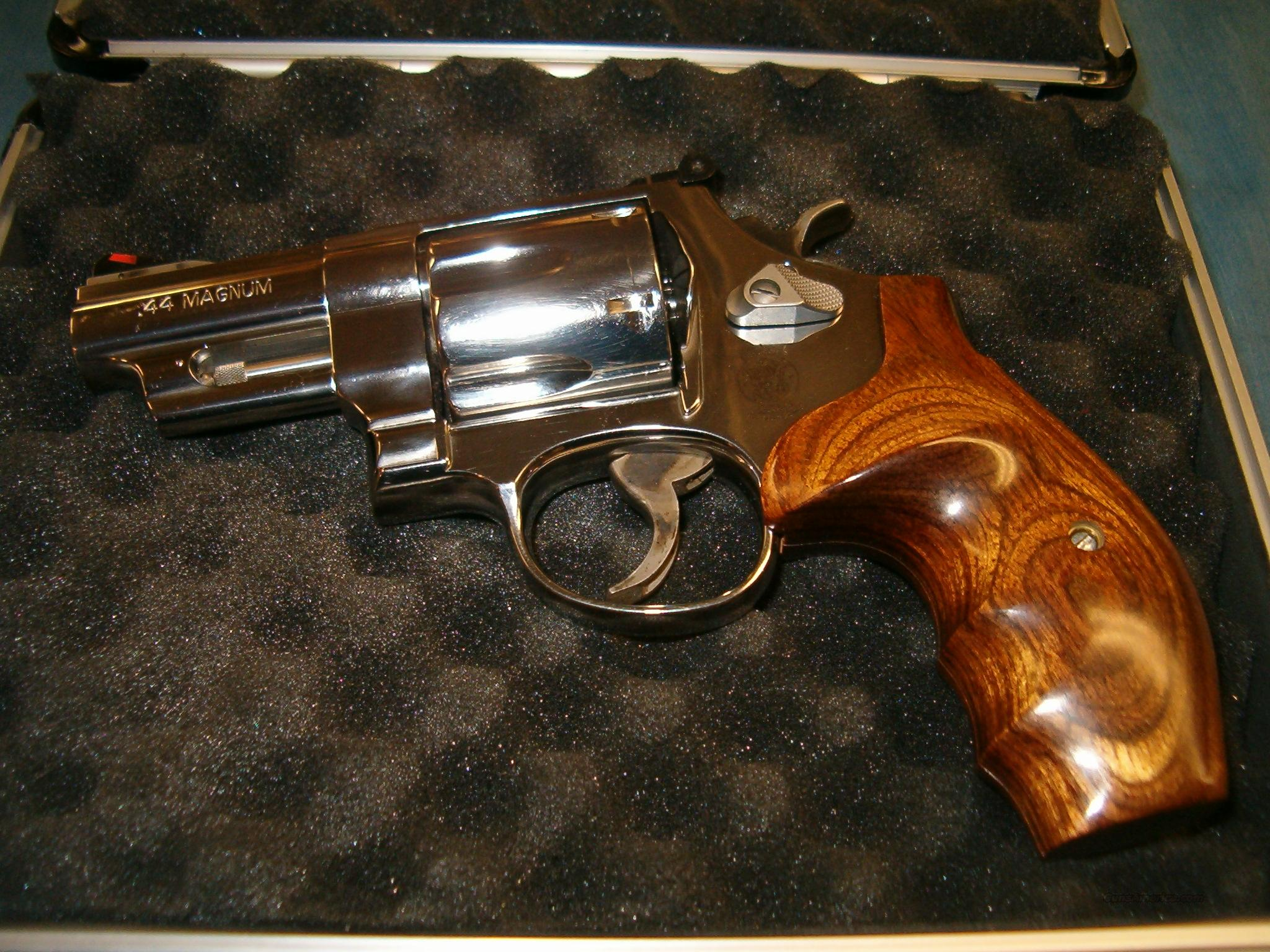 "S & W Special Issue Model 629-6 Trailboss 1852-2002 edition S/S .44 mag 3"" ported bbl  Guns > Pistols > Smith & Wesson Revolvers > Model 629"