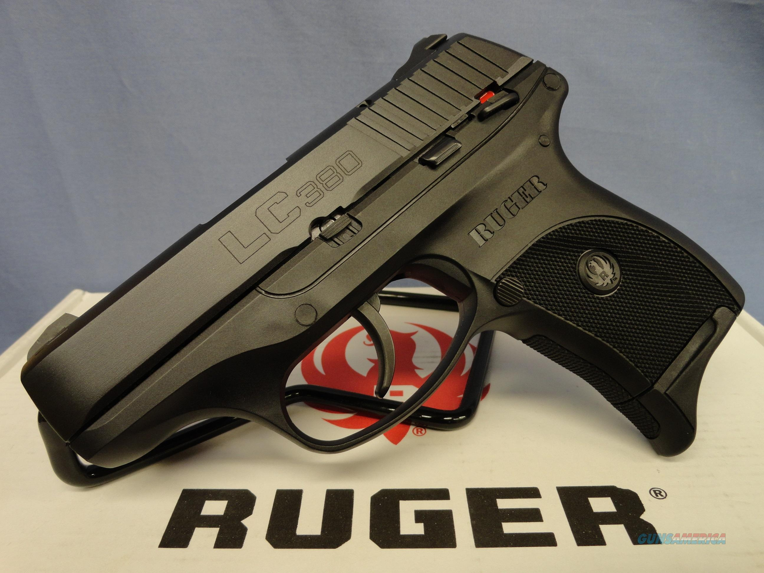 Ruger LC380 .380 Pistol  Guns > Pistols > Ruger Semi-Auto Pistols > LC9