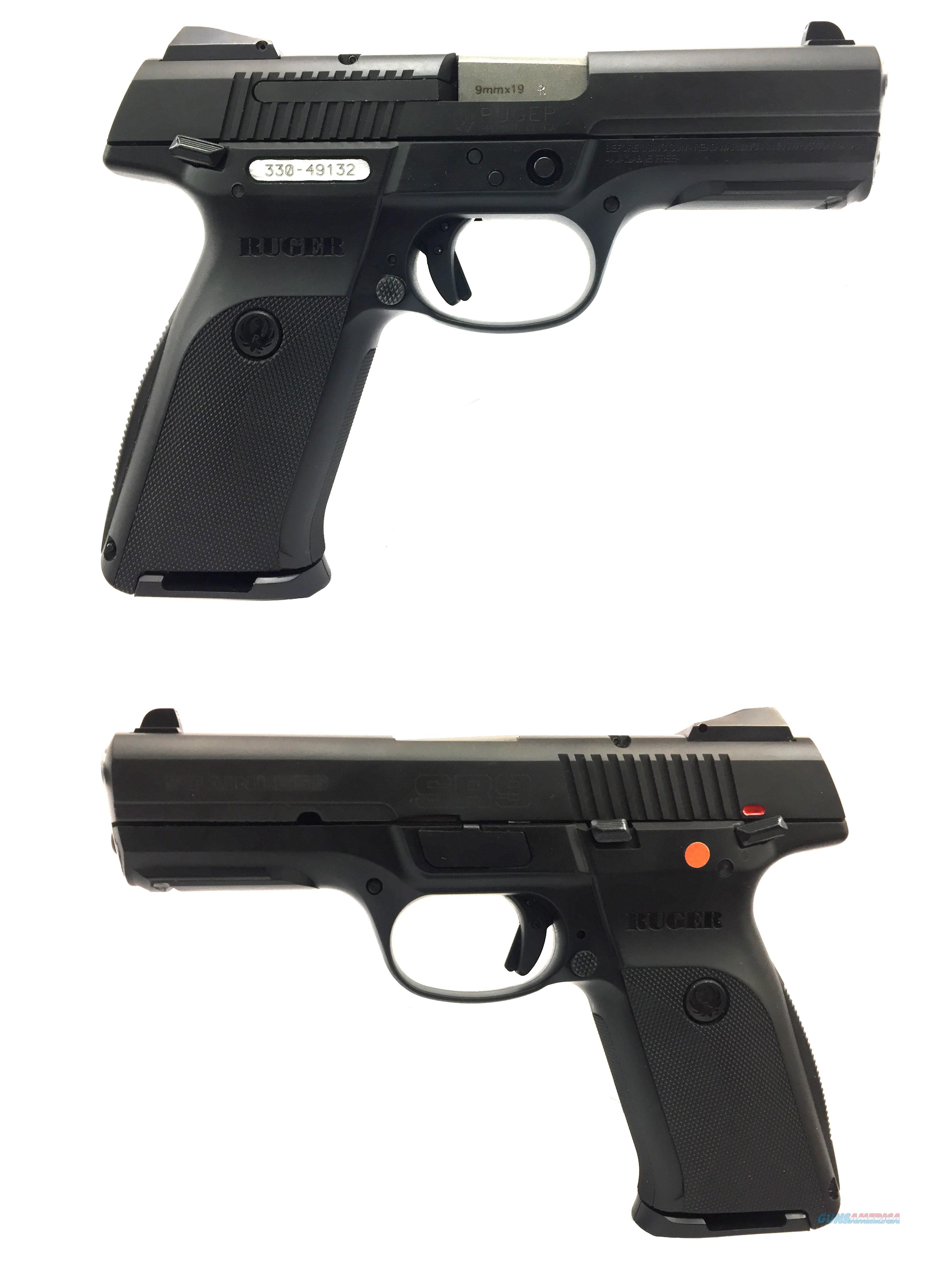 Ruger SR9 Blackened Stainless Steel 9mm Pistol  Guns > Pistols > Ruger Semi-Auto Pistols > SR Family > SR9