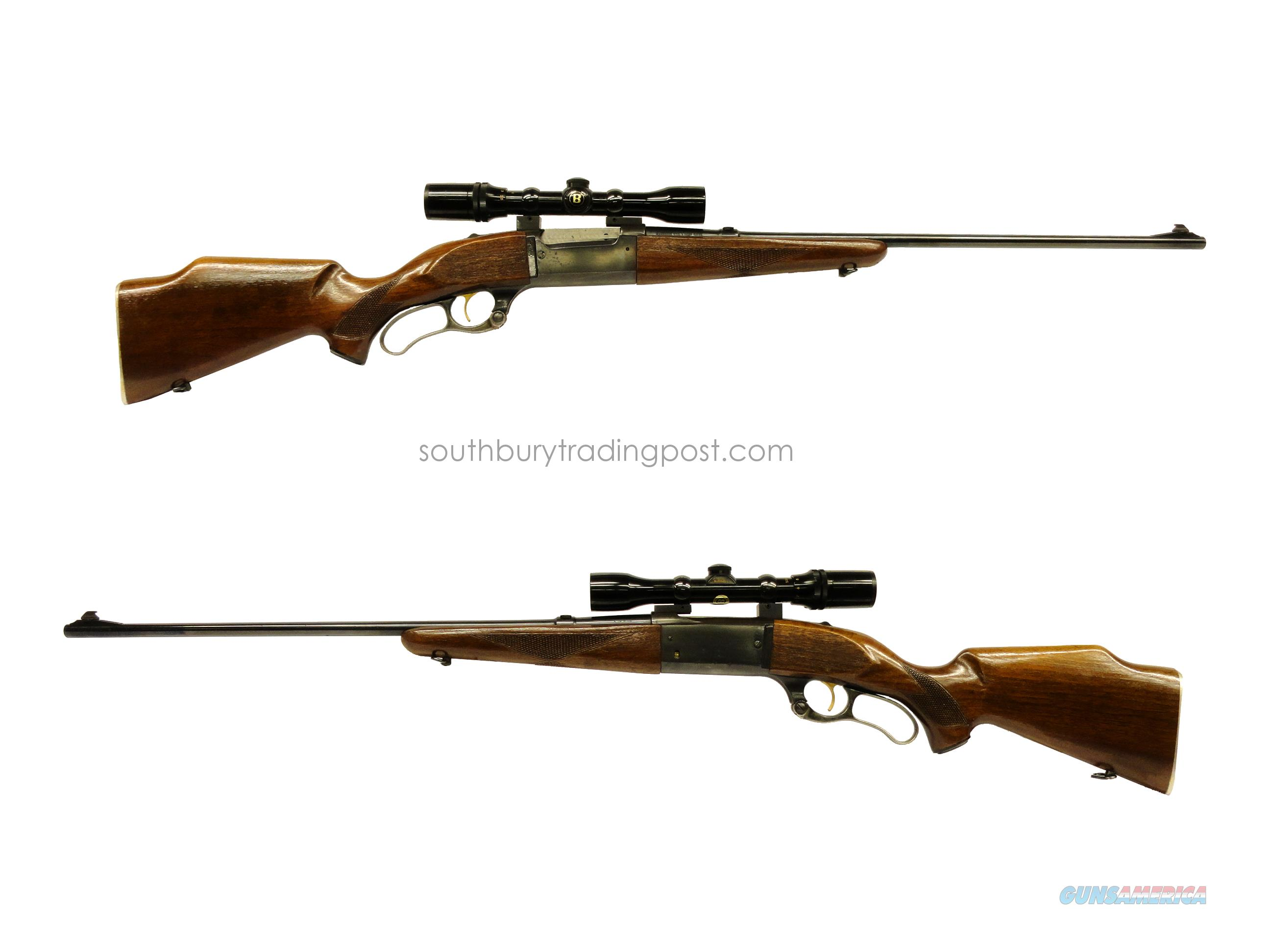 Savage 99M (99F) .243 Winchester Lever-Action Rifle - Bushnell Scope-Chief VI scope included!  Guns > Rifles > Savage Rifles > Model 95/99 Family
