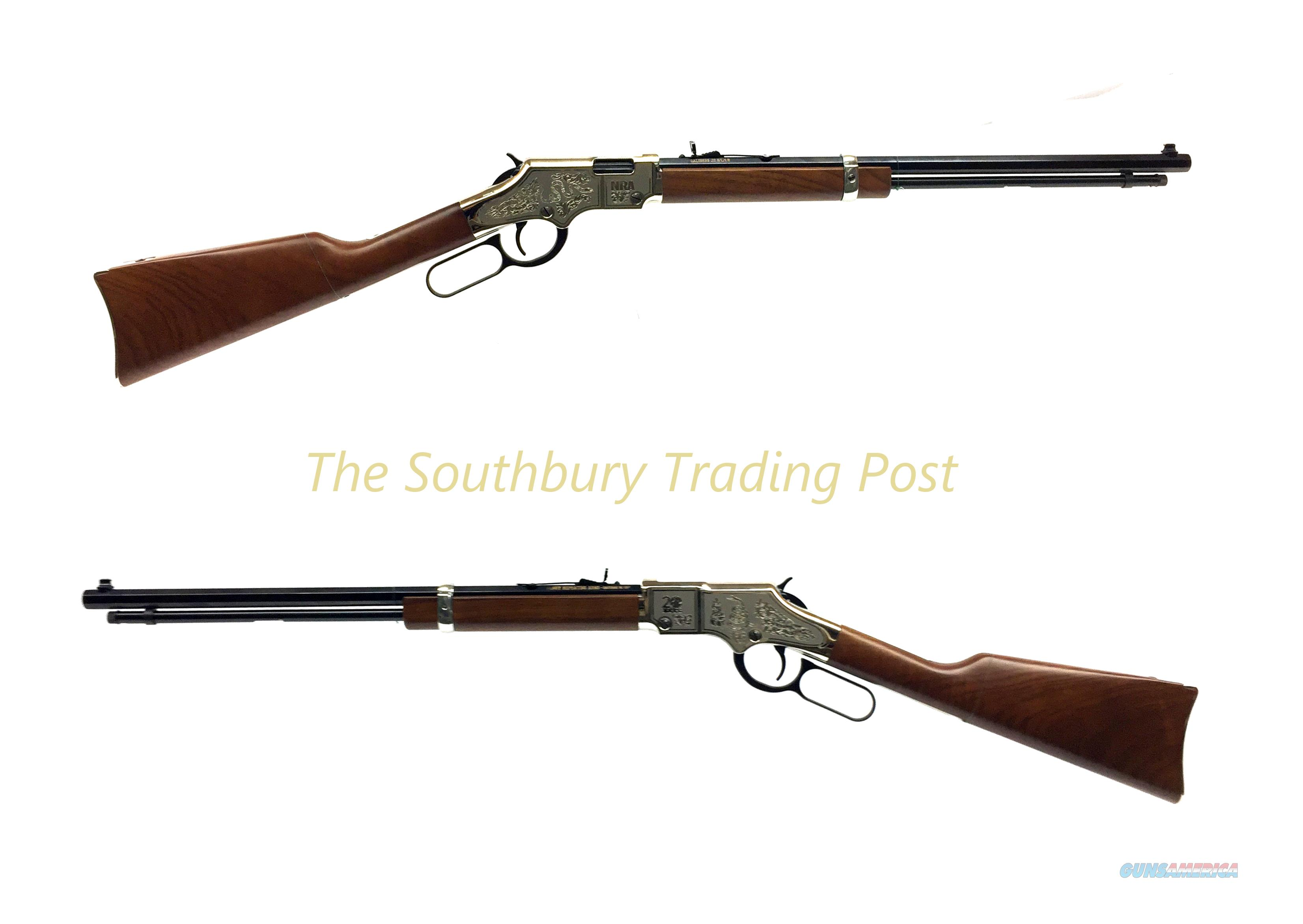 Henry NRA 20th Year Anniversary Edition .22 LR Lever-Action Rifle  Guns > Rifles > Henry Rifle Company