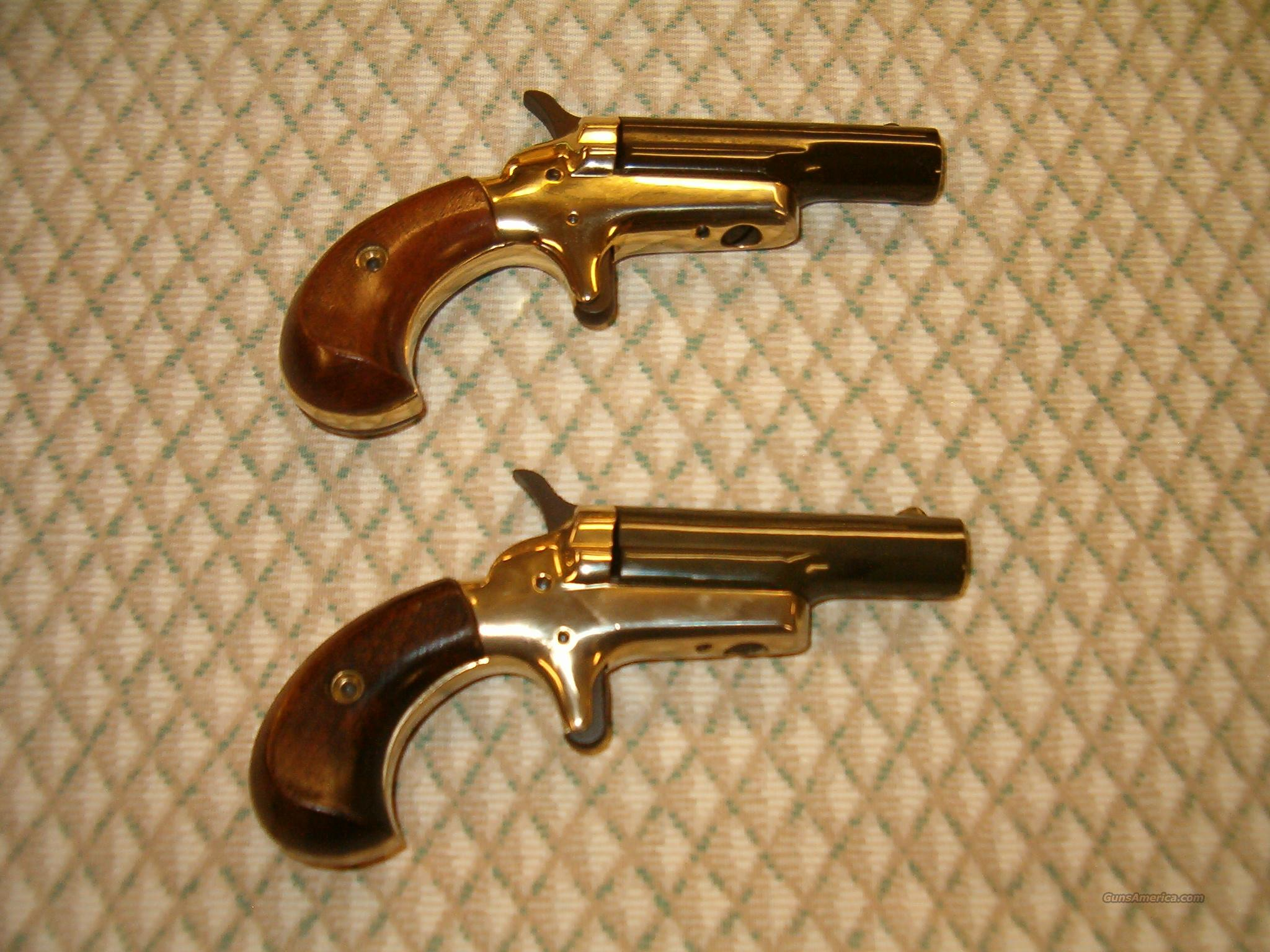 Colt Lord Derringers-pair-Consecutive Numbers  Guns > Pistols > Colt Commemorative Pistols