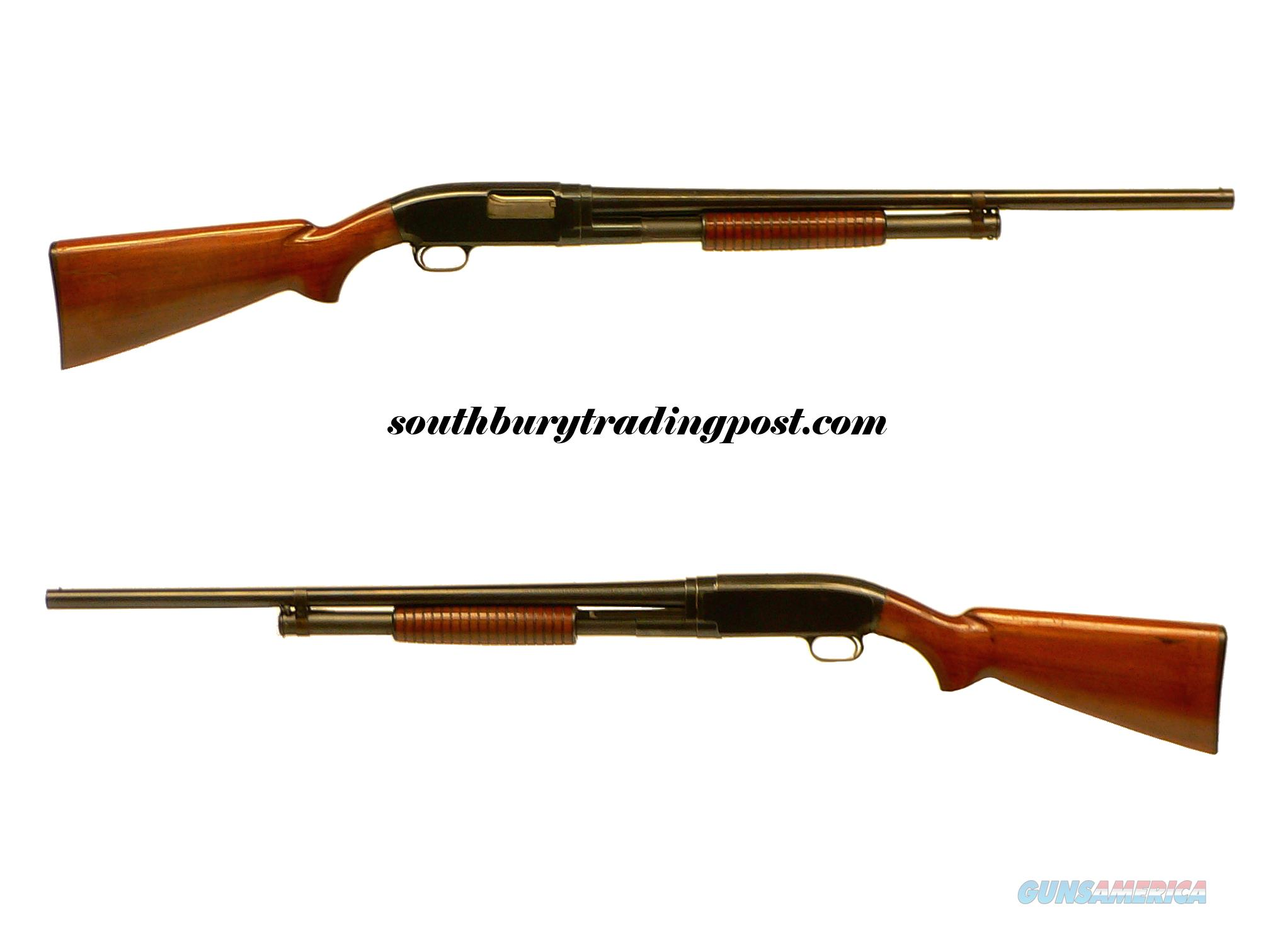Winchester Model 12 - 12GA Pump Shotgun - Circa 1946  Guns > Shotguns > Winchester Shotguns - Modern > Pump Action > Hunting