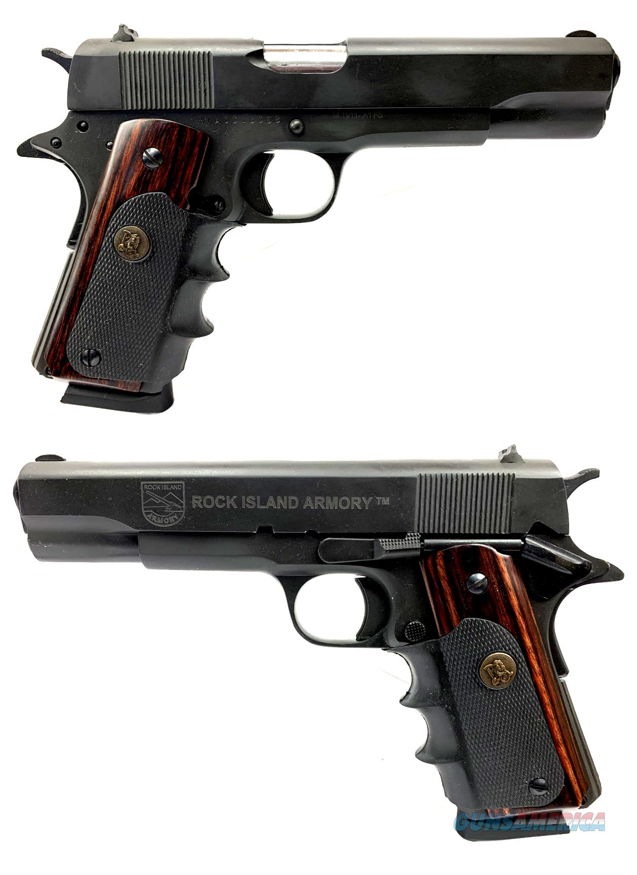 Rock Island Armory M1911-A1FS .45ACP Semi-Automatic Pistol  Guns > Pistols > Rock Island Armory Pistols > Rock Island