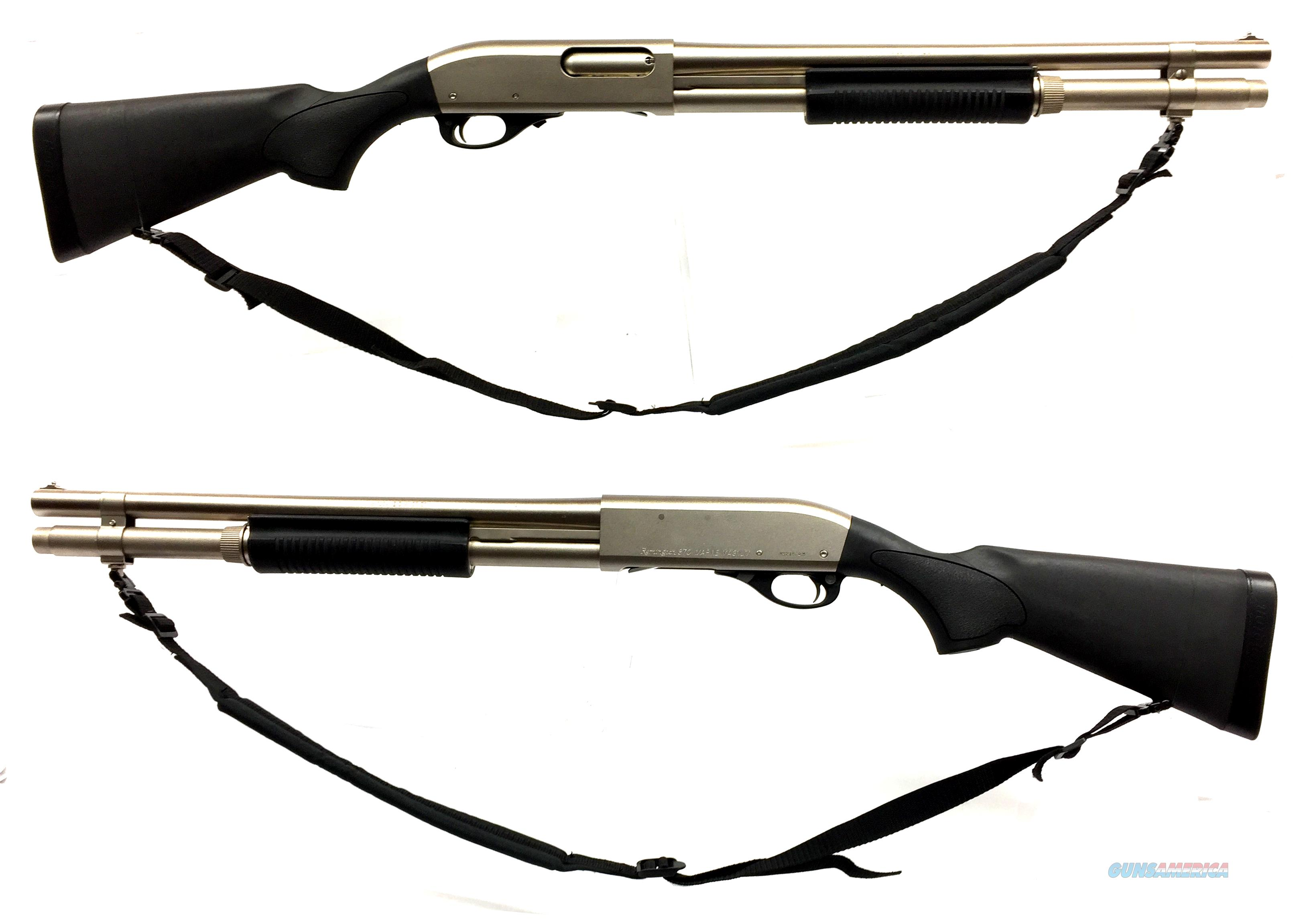 Remington 870 Marine Magnum 12GA Pump-Action Shotgun  Guns > Shotguns > Remington Shotguns  > Pump > Tactical