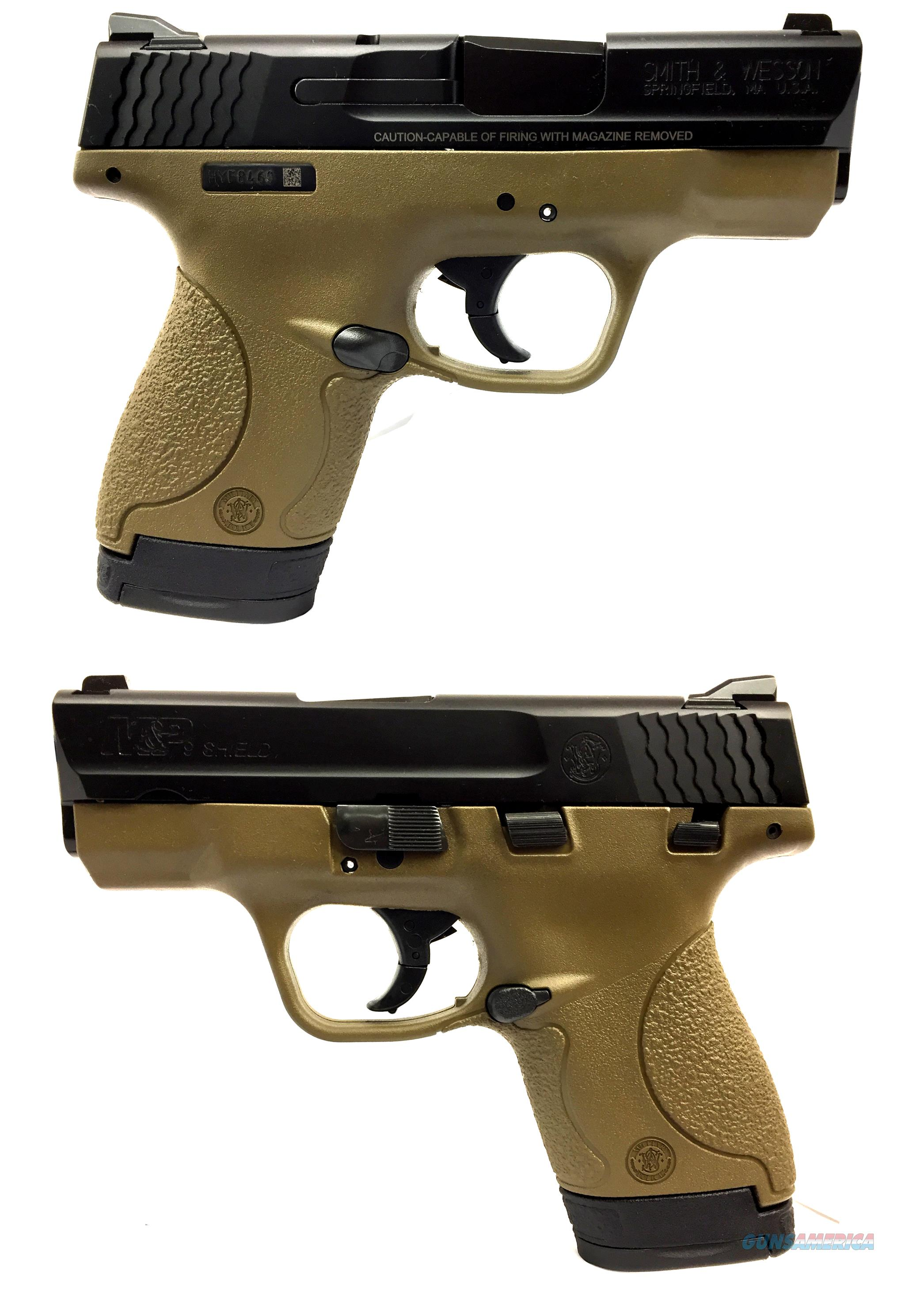 Smith & Wesson M&P 9 Shield (Flat Dark Earth)  Guns > Pistols > Smith & Wesson Pistols - Autos > Shield