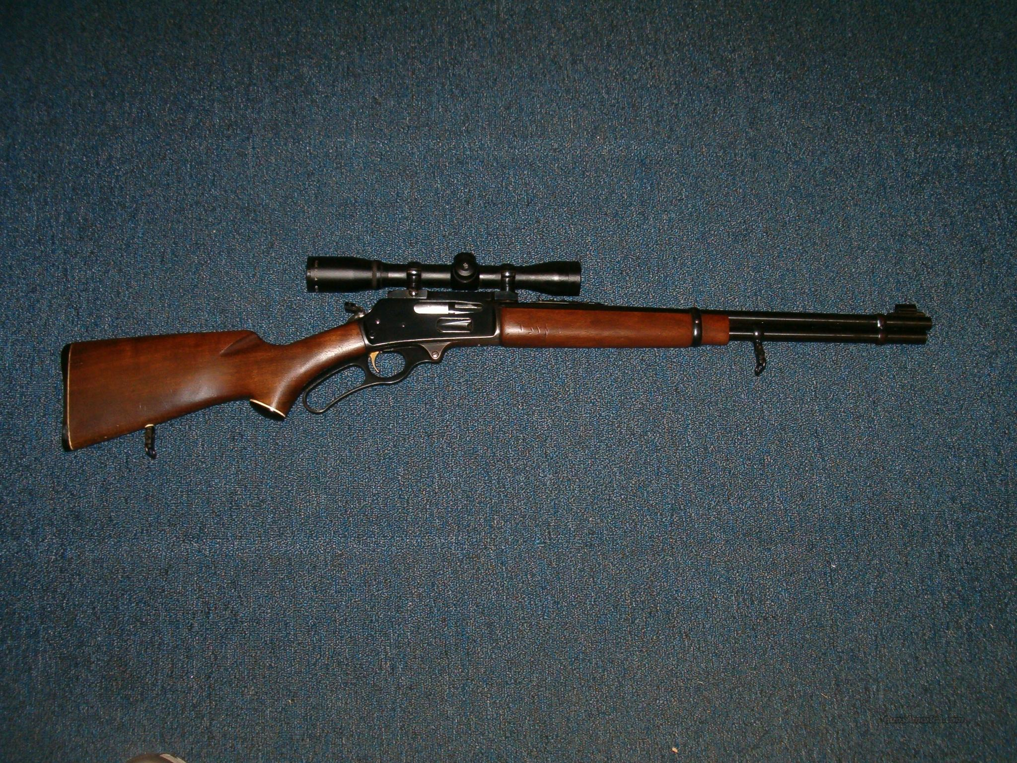 MARLIN Model 336 in .35Rem cal w/scope  Guns > Rifles > Marlin Rifles > Modern > Lever Action