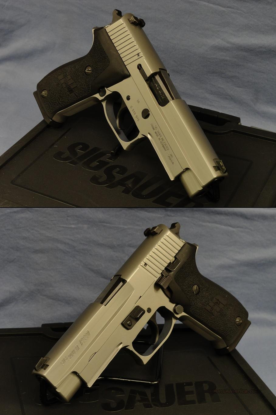 Sig Sauer P220 Stainless .45ACP Full Size, NIB - Model discontinued  Guns > Pistols > Sig - Sauer/Sigarms Pistols > P220