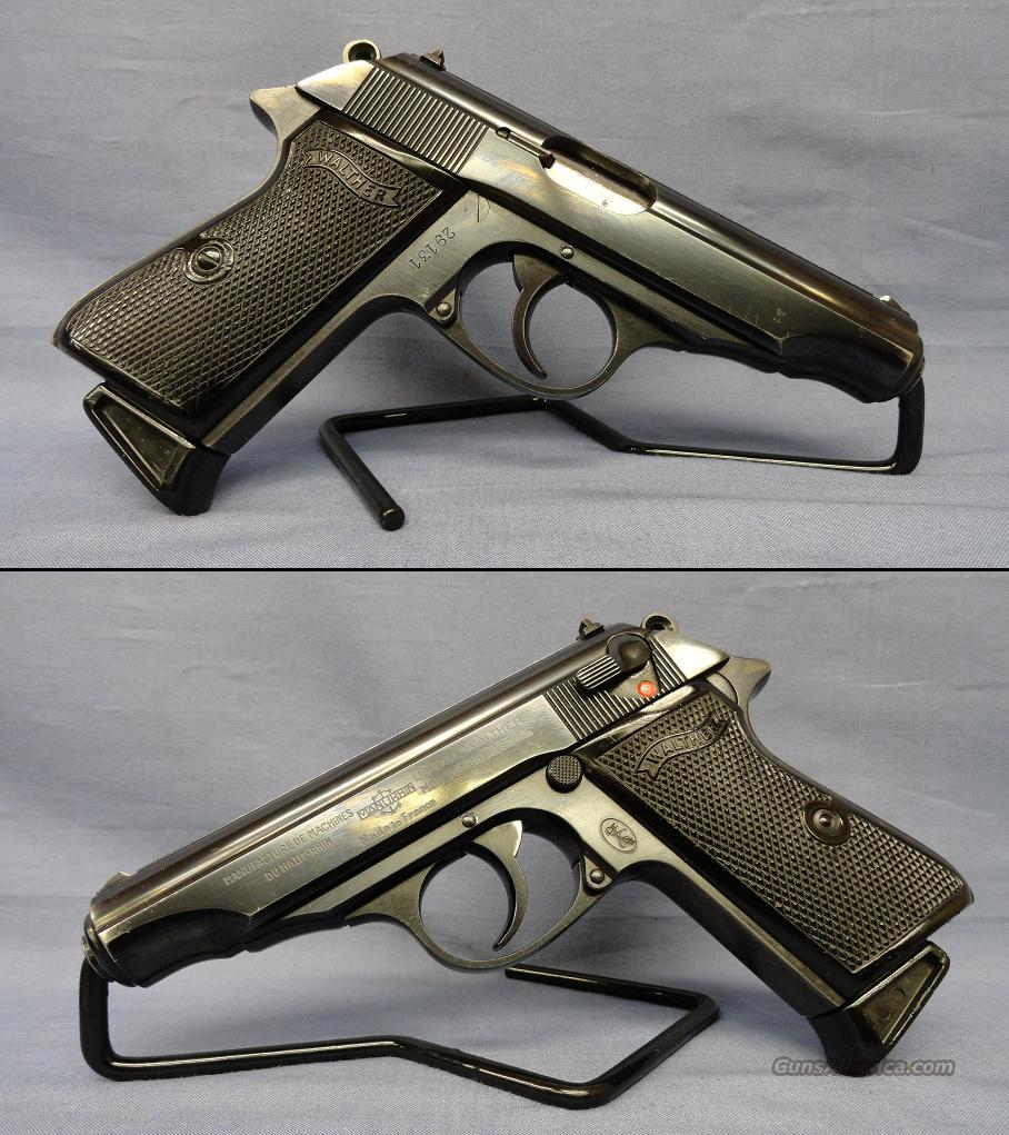 Walther Manurhin Mod BP - 7.65mm  Guns > Pistols > Walther Pistols > Post WWII > PPK Series