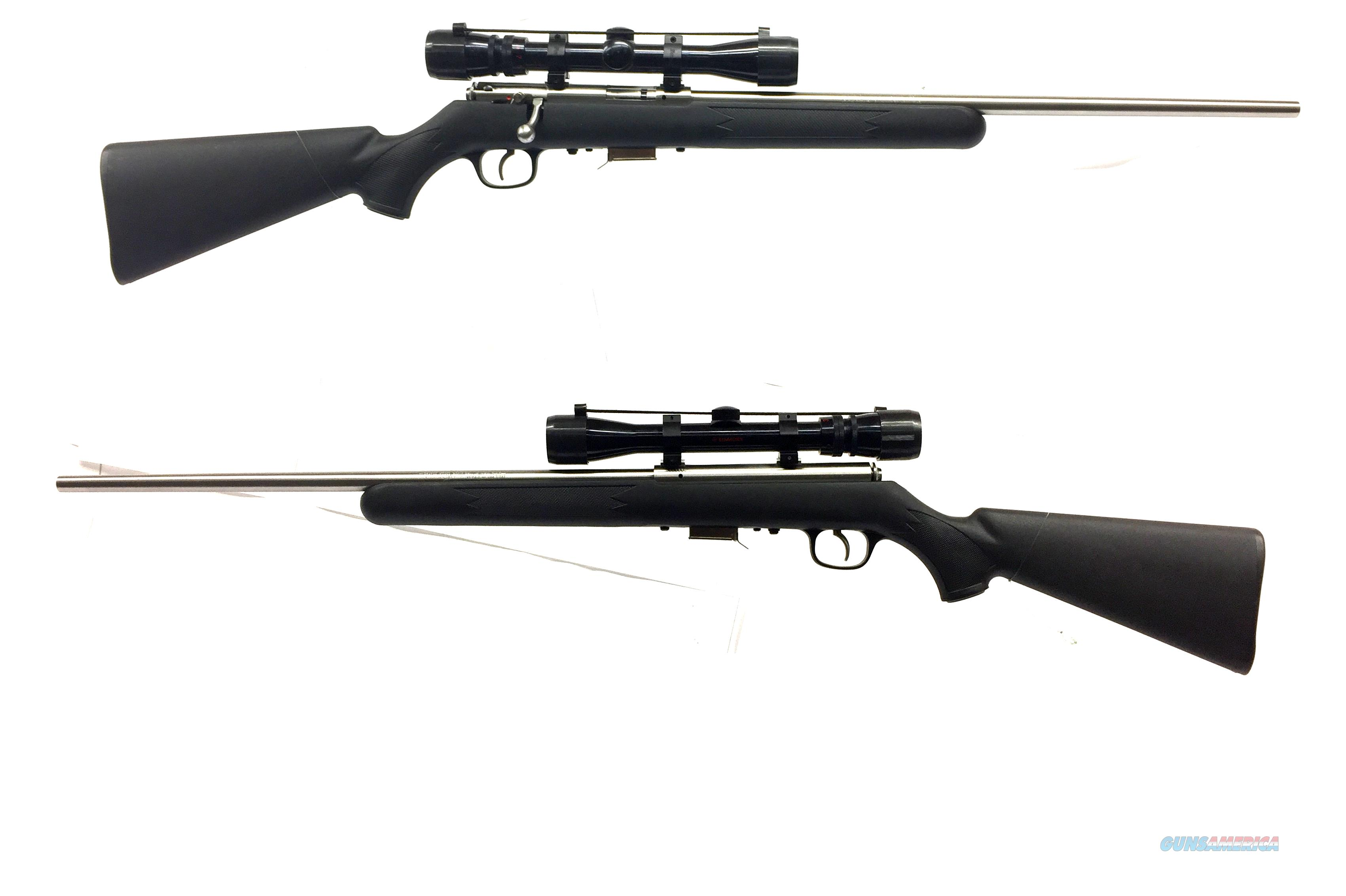 Savage Model 93R17 Bolt Action Rifle W/ Scope  Guns > Rifles > Savage Rifles > Standard Bolt Action > Sporting