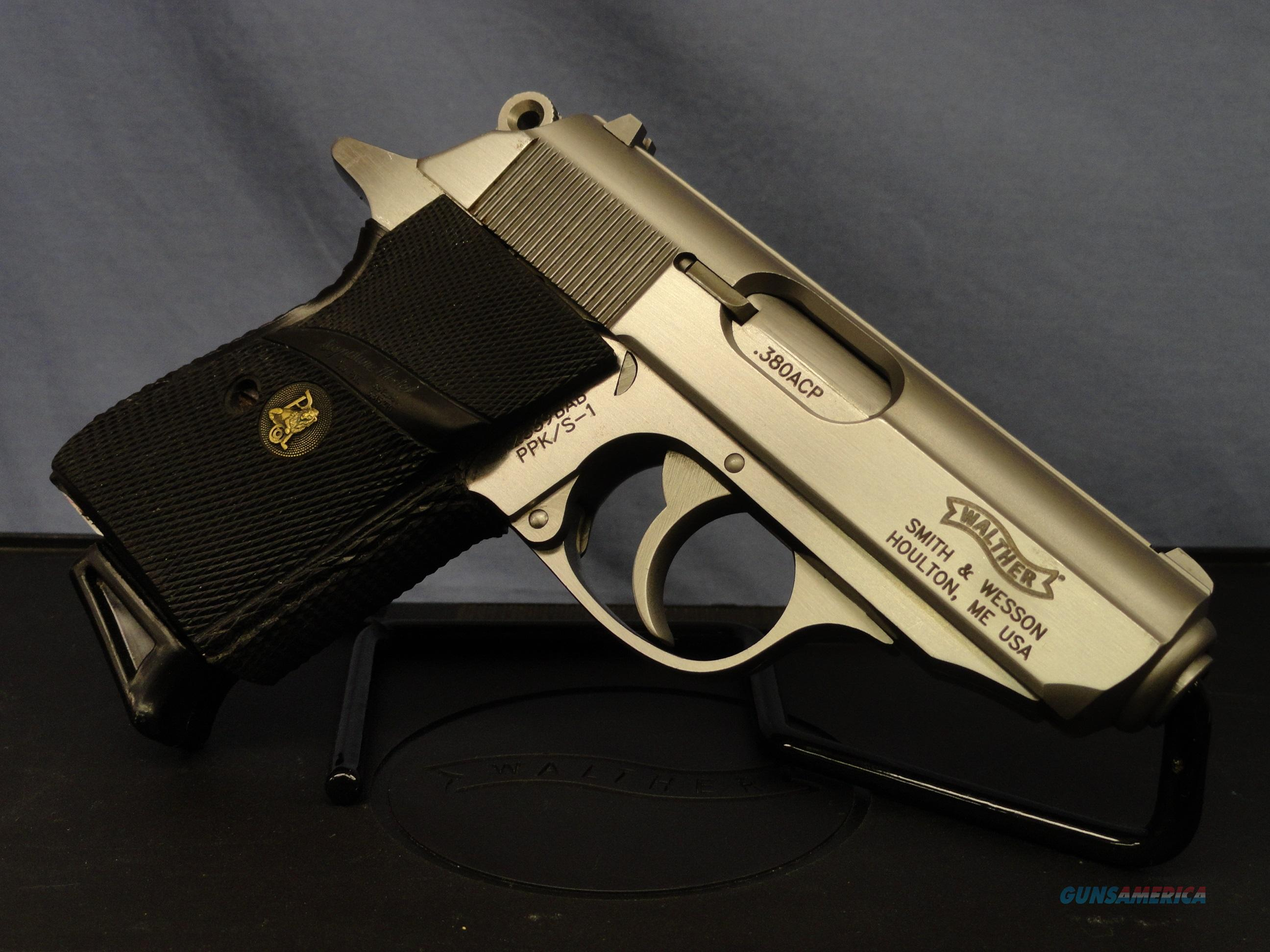 Walther PPK/S-1 .380 - Accessories included!   Guns > Pistols > Walther Pistols > Post WWII > PPK Series