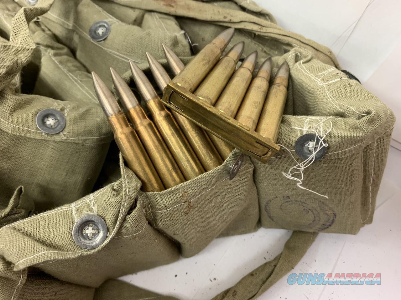 7.9MM F.S. 1947 T.C.Turkish Ammo w/ Bandoleers  Non-Guns > Ammunition