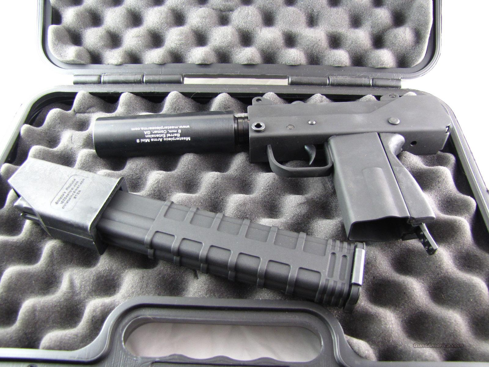MasterPiece Arms -- MPA 930T - Mac Mini 9mm Threaded Barrel -FREE SHIP  Guns > Pistols > MasterPiece Arms Pistols > Defender