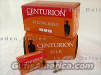 1000 Rounds - Centurion/Aguila .22 Long Rifle 22 LR 22LR 40GR AMMO  Non-Guns > Ammunition