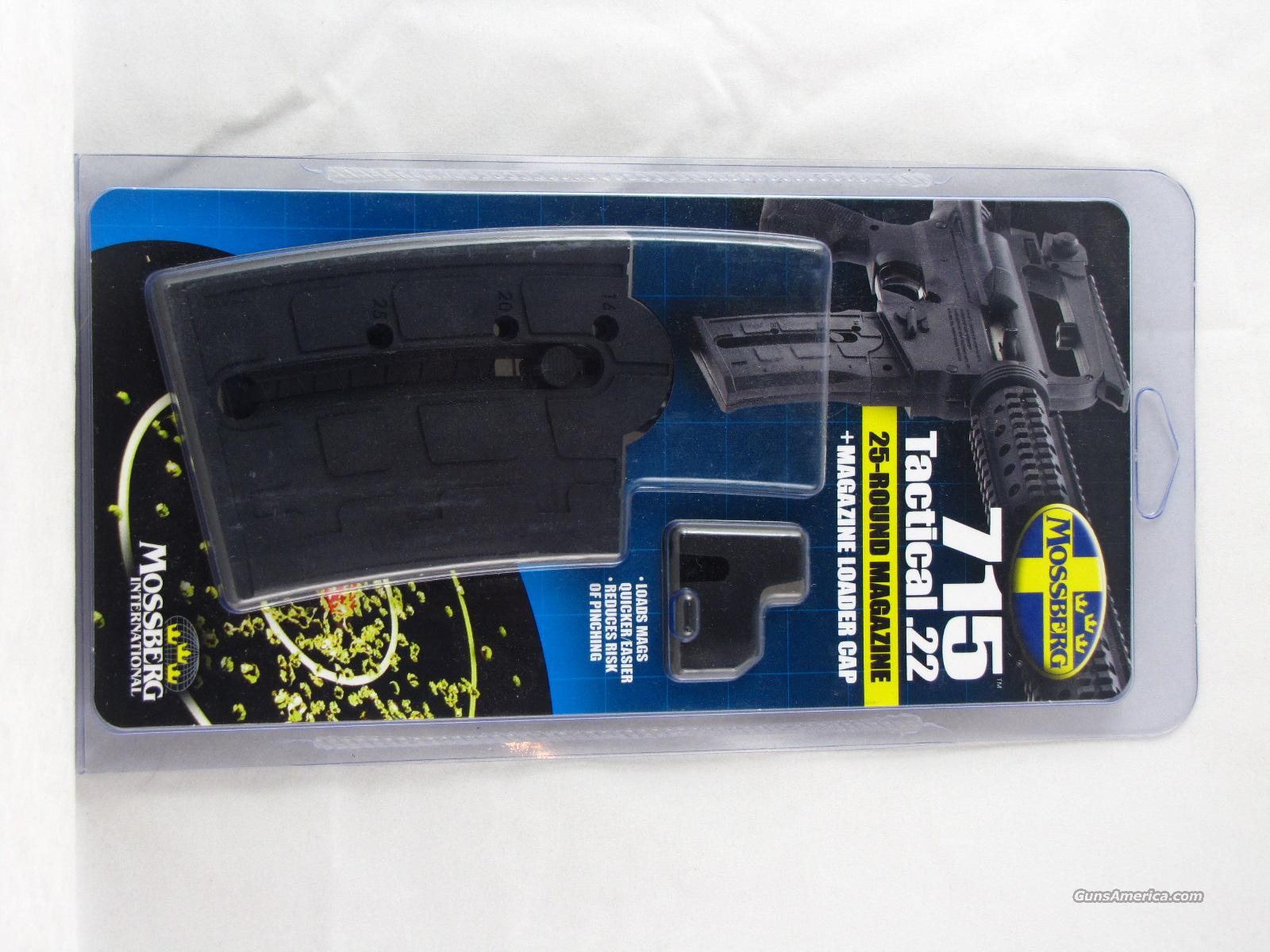 Mossberg 715T 702 715 Tactical Plinkster 22 LR 25-RD Magazine Long Rifle  Non-Guns > Magazines & Clips > Rifle Magazines > Other