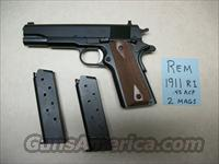 Remington 1911 45 cal  New  Guns > Pistols > Remington Pistols - Modern