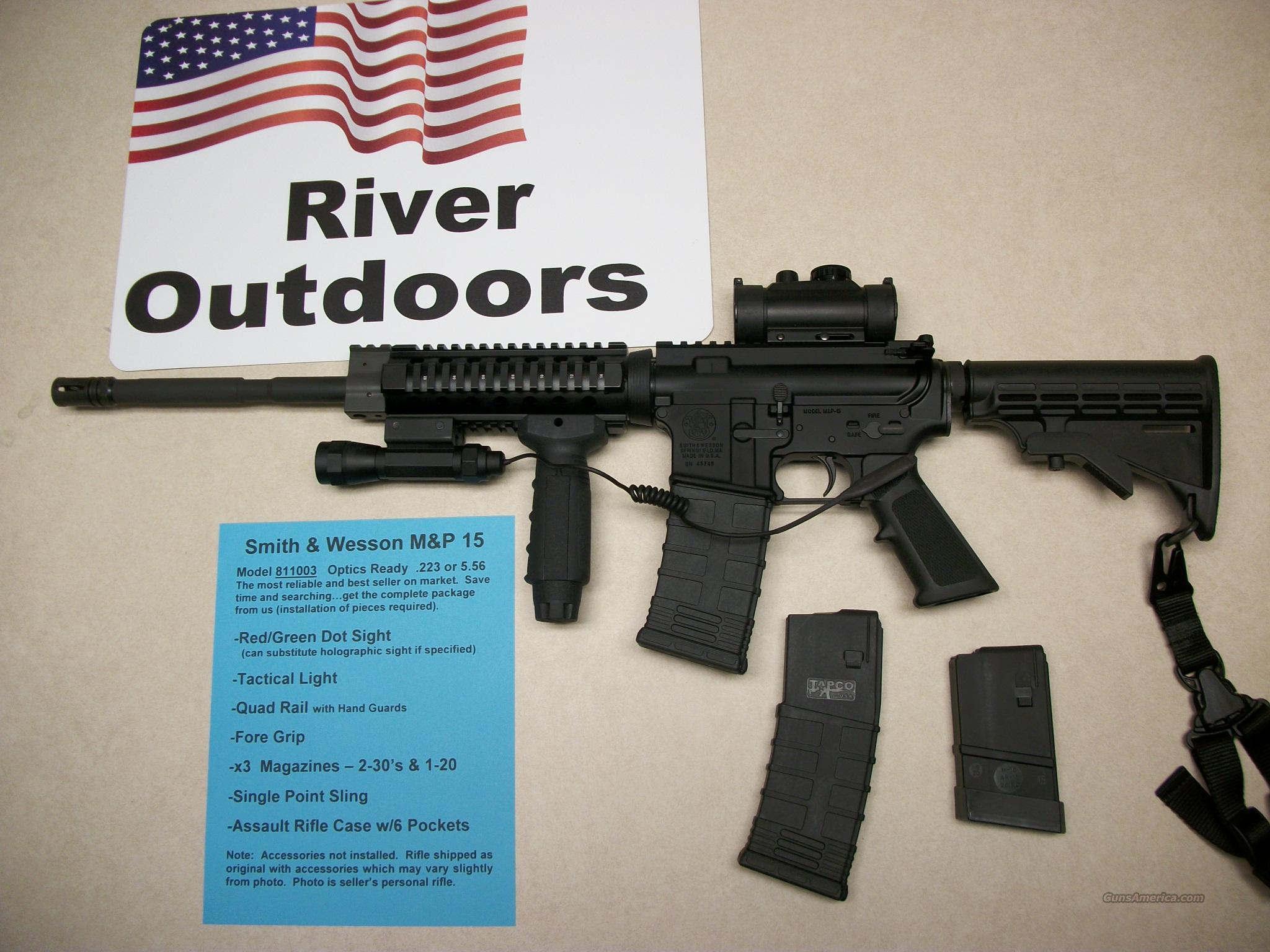 S&W M&P 15 New with Accessories  Guns > Rifles > Colt Military/Tactical Rifles