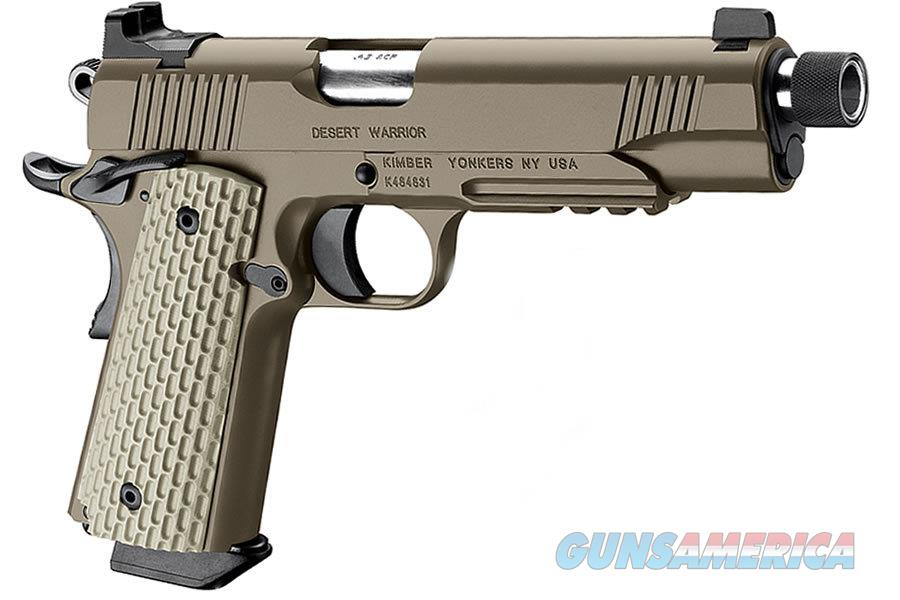 Kimber Desert Warrior TFS .45 ACP Dark Earth Pistol with Night Sights  Guns > Pistols > Kimber of America Pistols