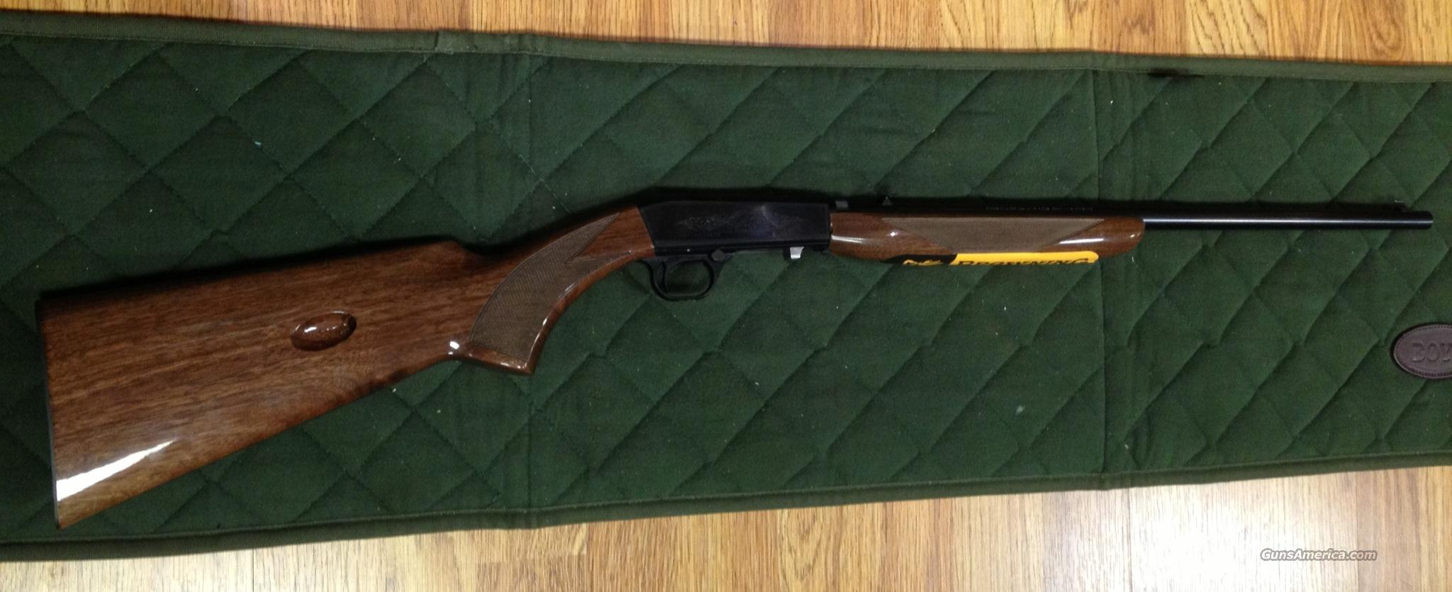NIB Browning Semi Auto-22, Grade I, .22LR  Guns > Rifles > Browning Rifles > Semi Auto > Hunting