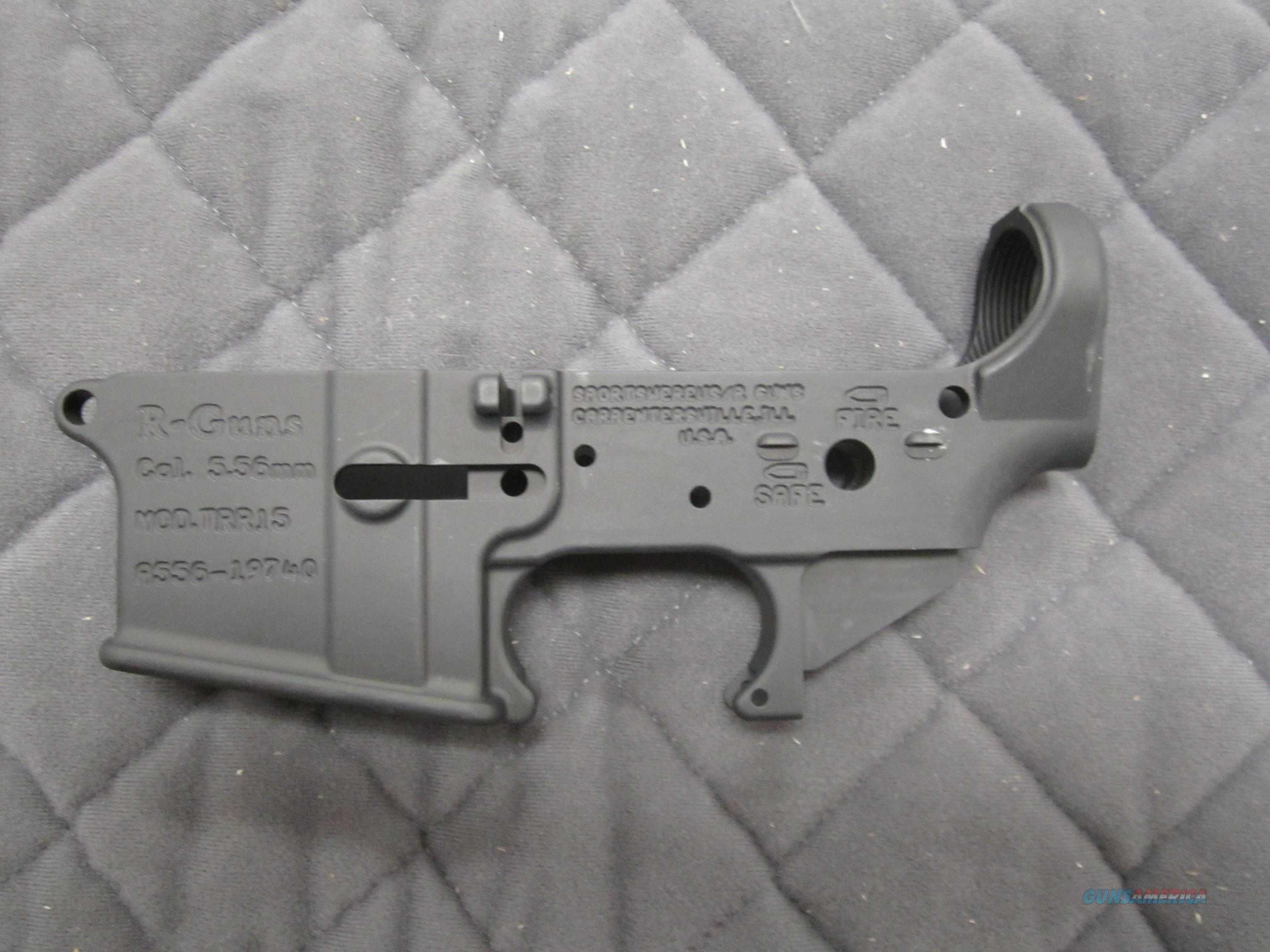 NIB R Guns TRR-15 Stripped lower receiver .223/5.56/.300 Blackout  Guns > Rifles > R Misc Rifles