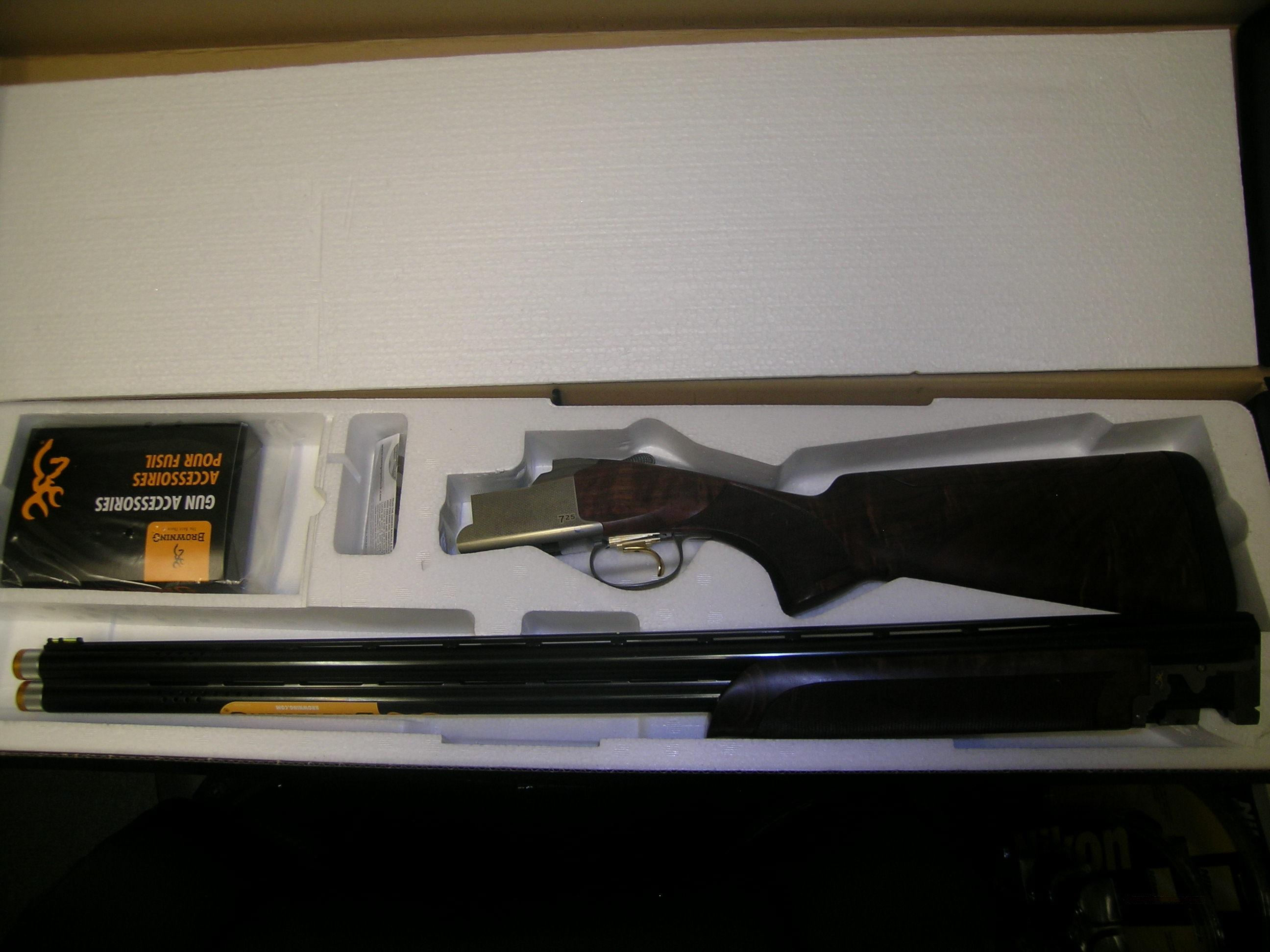 "NIB Browning Citori 725 12ga 30"" Sporting Adjust.  Guns > Shotguns > Browning Shotguns > Over Unders > Citori > Trap/Skeet"