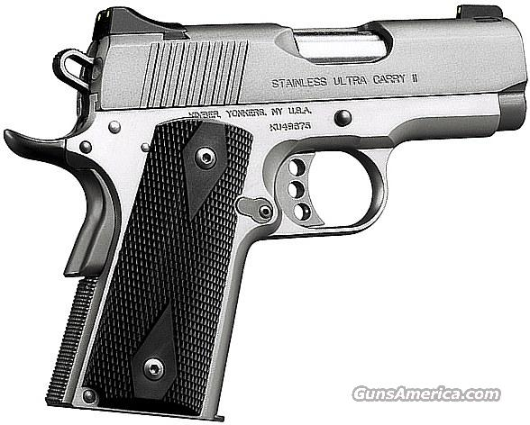 NIB Kimber Stainless Ultra Carry II .45 ACP  Guns > Pistols > Kimber of America Pistols