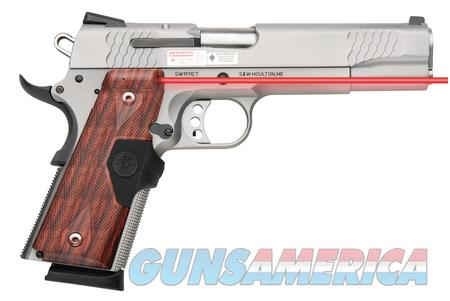 NIB S&W1911CT .45ACP E SS W/Laser  Guns > Pistols > Smith & Wesson Pistols - Autos > Steel Frame