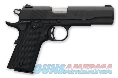 "NIB Browning 1911 Black Label .380 ACP 4.25"" Blk  Guns > Pistols > Browning Pistols > Other Autos"
