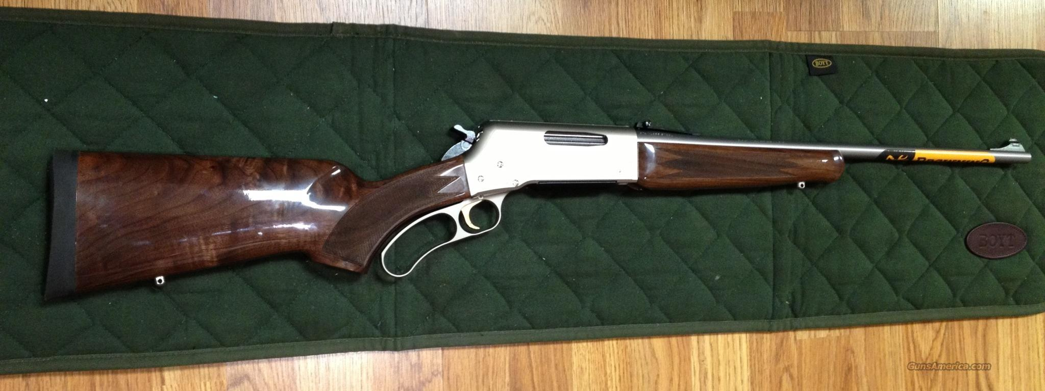 NIB Browning BLR Lightweight Stainless .243 Win.  Guns > Rifles > Browning Rifles > Lever Action