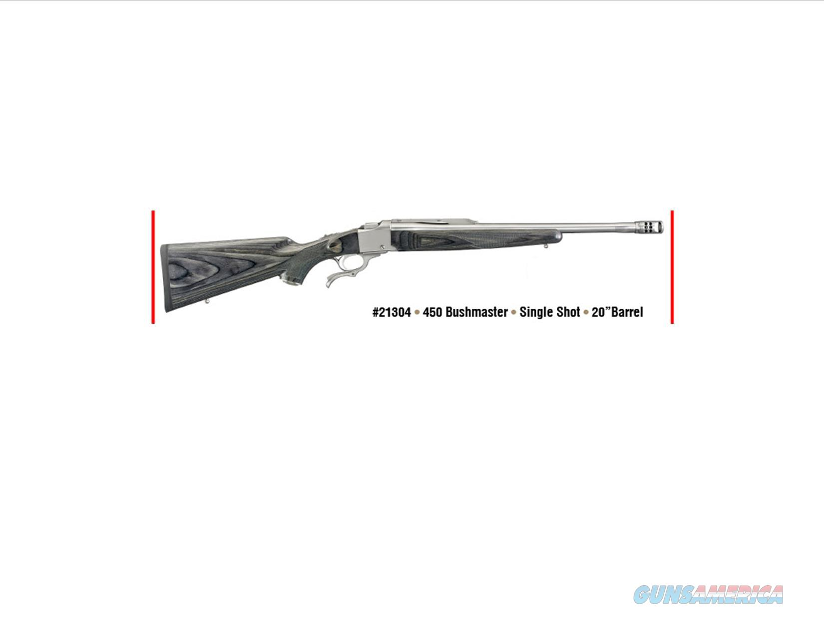 Ruger #1 Single Shot Rifle in 450 Bushmaster!  Guns > Rifles > Ruger Rifles > #1 Type