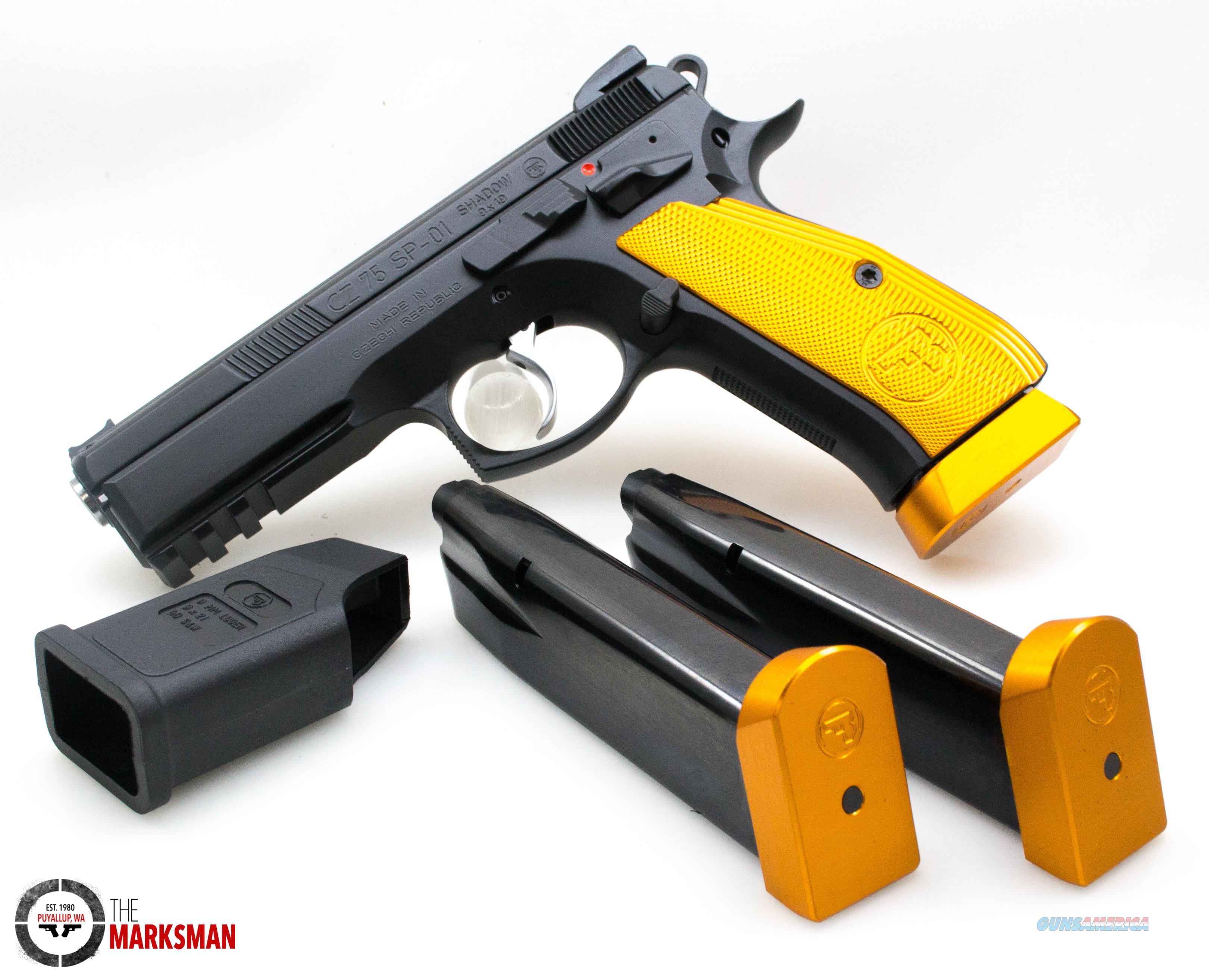 CZ SP-01 Shadow Orange, 9mm NEW Custom Shop Hand Fitted 91764  Guns > Pistols > CZ Pistols