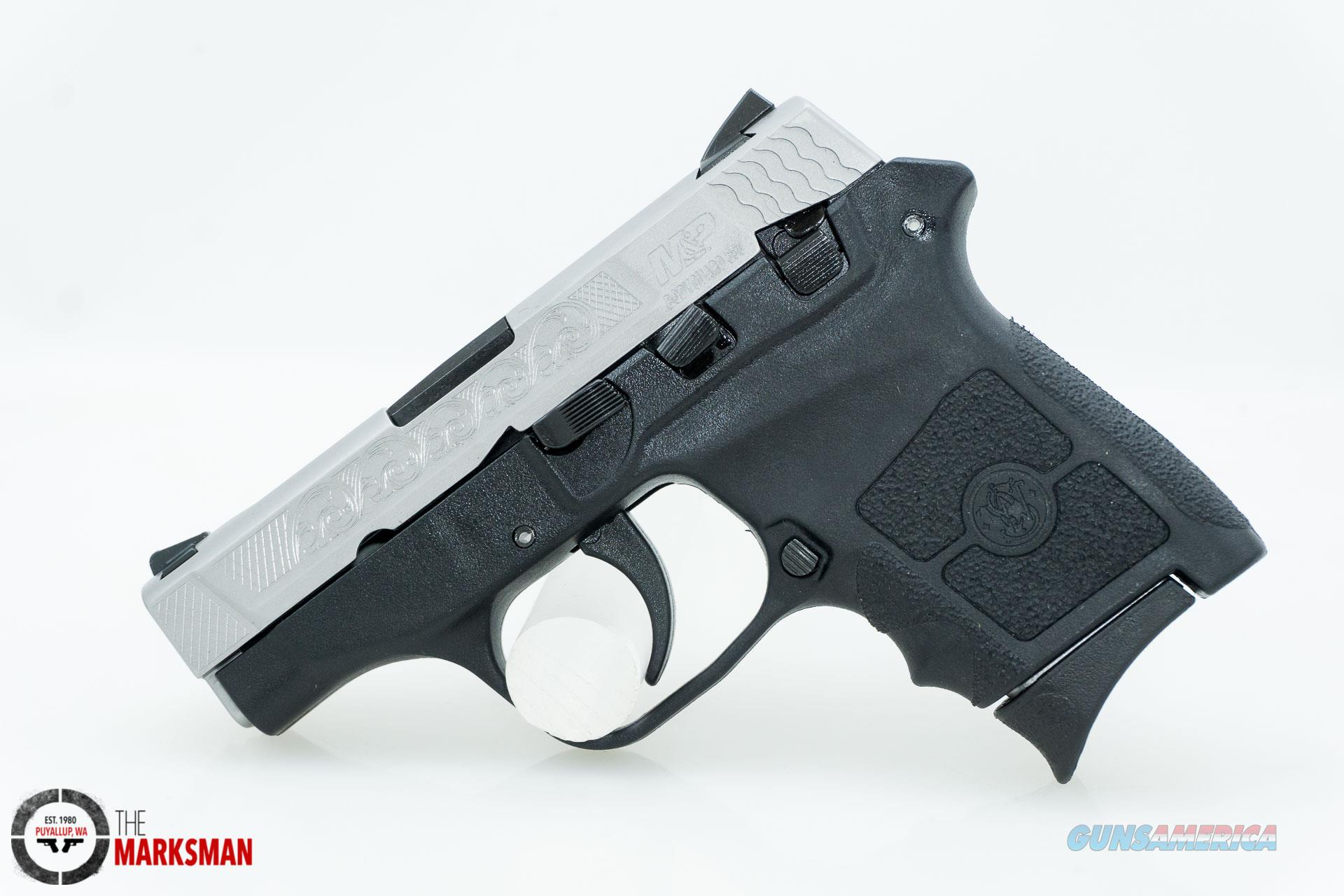 Smith and Wesson M&P Bodyguard, .380 ACP, Engraved NEW  Guns > Pistols > Smith & Wesson Pistols - Autos > Polymer Frame