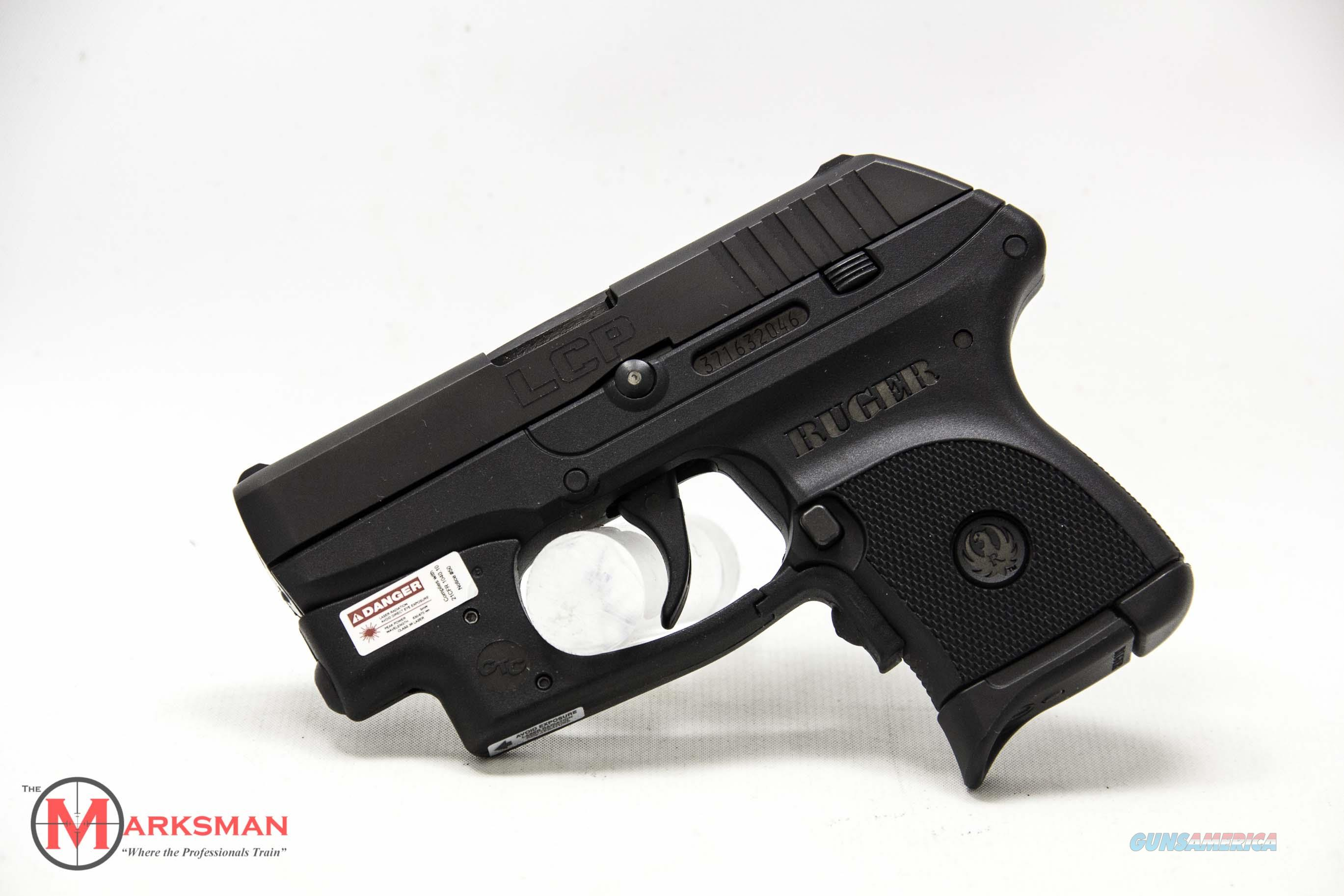 Ruger LCP with Crimson Trace laser, .380 ACP NEW  Guns > Pistols > Ruger Semi-Auto Pistols > LCP