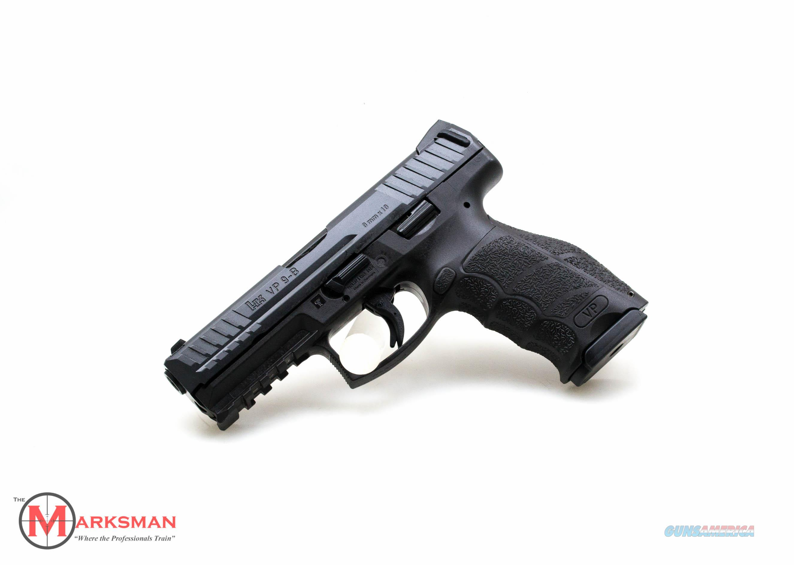Heckler and Koch VP9 -B, 9mm NEW Push Button Magazine Release  Guns > Pistols > Heckler & Koch Pistols > Polymer Frame