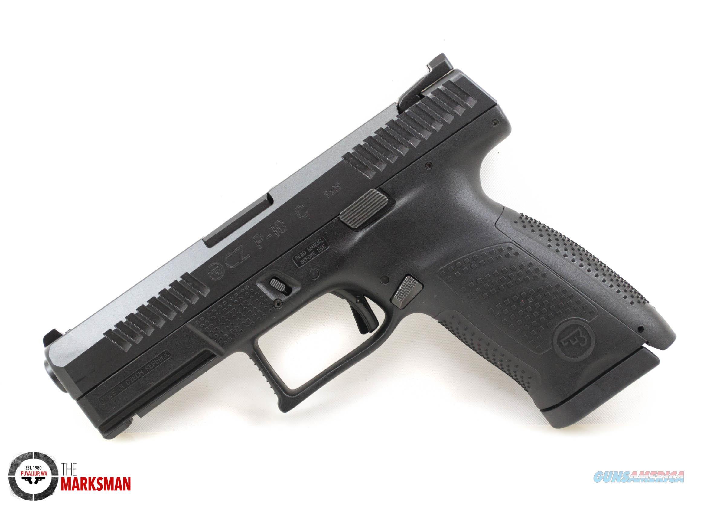 CZ P-10 Compact, 9mm NEW 91520  Guns > Pistols > CZ Pistols