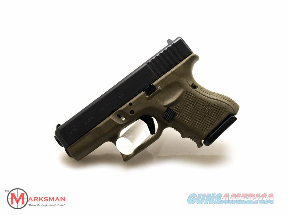 Glock 26 Generation 4, 9mm, O.D. Green NEW Limited Production  Guns > Pistols > Glock Pistols > 26/27
