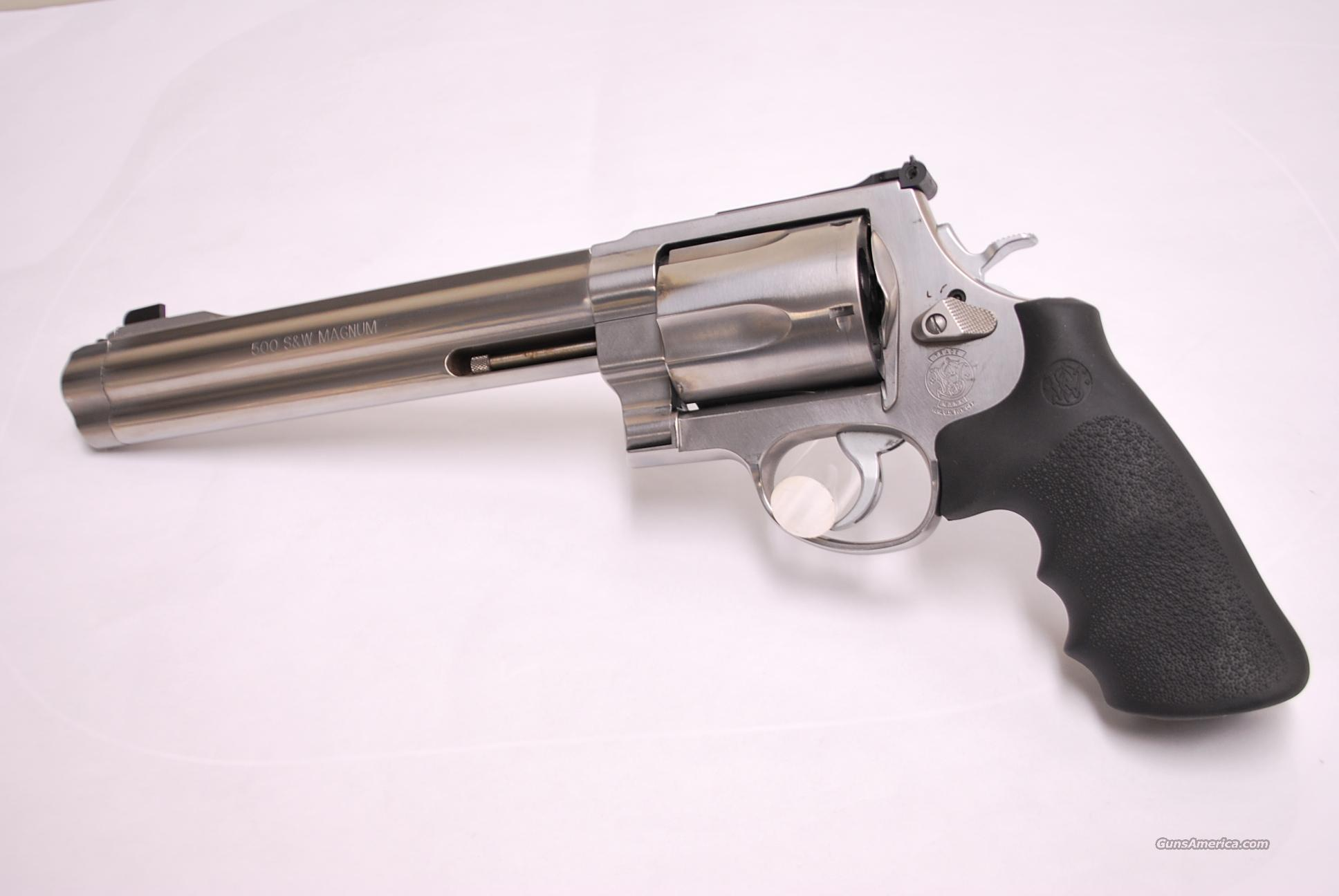 Smith & Wesson 500 USED .500 S&W Magnum  Guns > Pistols > Smith & Wesson Revolvers > Full Frame Revolver