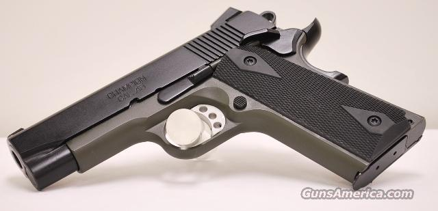 Springfield Loaded Lightweight Champion 45 ACP OD Green/Black  Guns > Pistols > Springfield Armory Pistols > 1911 Type
