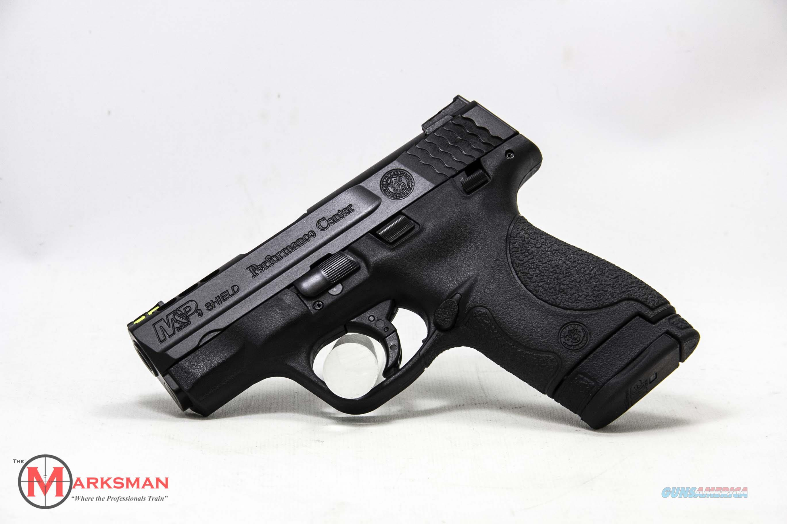 Smith and Wesson Performance Center M&P9 Shield, 9mm, Ported  Guns > Pistols > Smith & Wesson Pistols - Autos > Shield