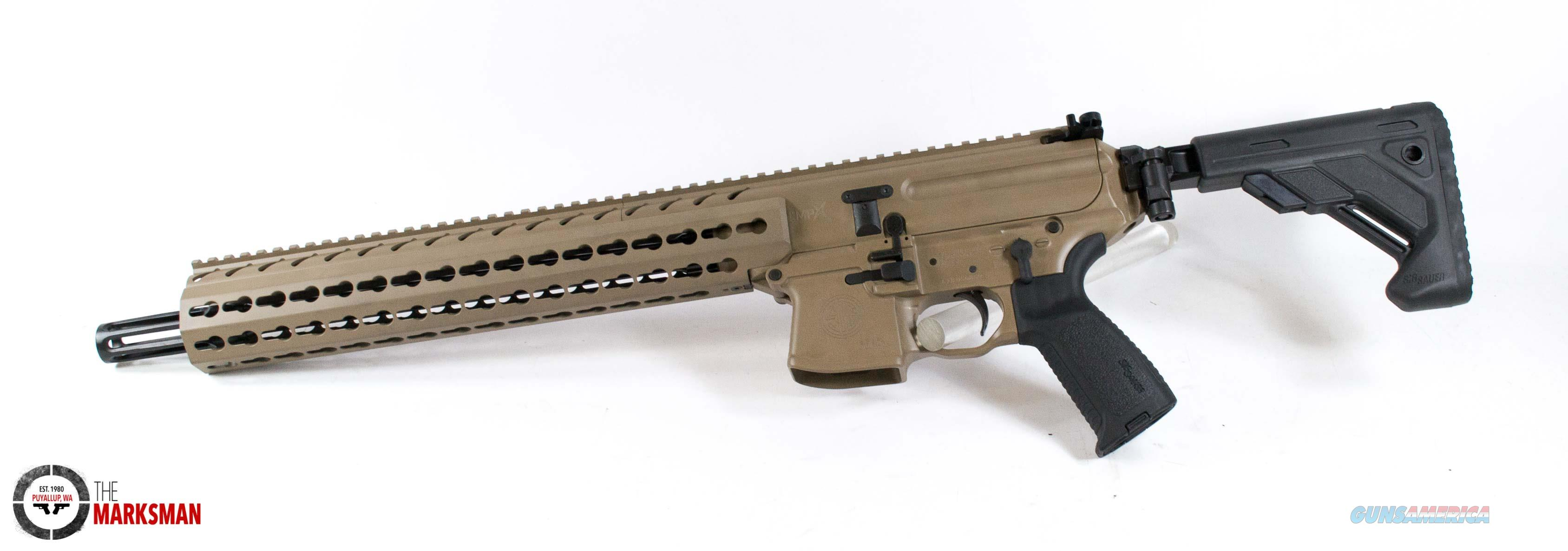 Sig Sauer MPX Carbine, 9mm, FDE NEW Folding, Collapsible Stock   Guns > Rifles > Sig - Sauer/Sigarms Rifles