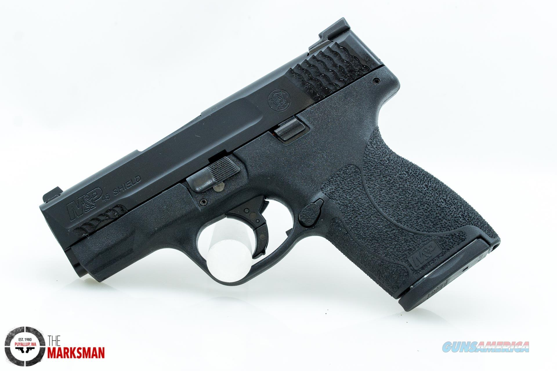 Smith and Wesson M&P Shield .45 ACP NEW Tritium Night Sights, Three Magazines, Free Shipping  Guns > Pistols > Smith & Wesson Pistols - Autos > Shield