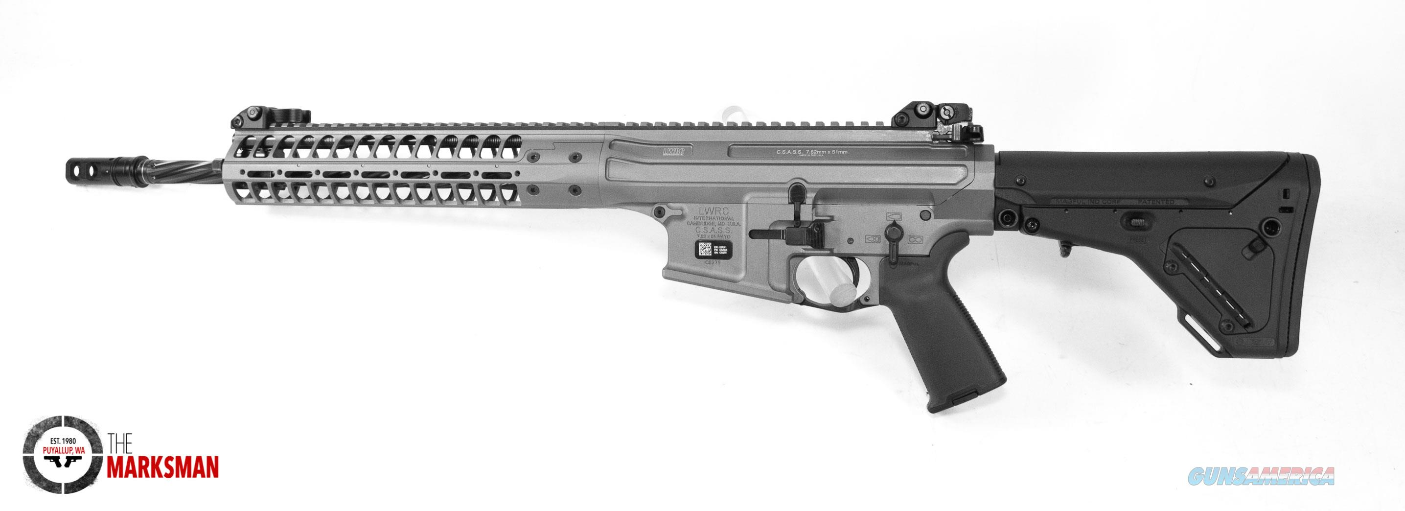 LWRC CSASS .308 Winchester/7.62mm NATO NEW Sniper Grey Cerakote  Guns > Rifles > LWRC Rifles